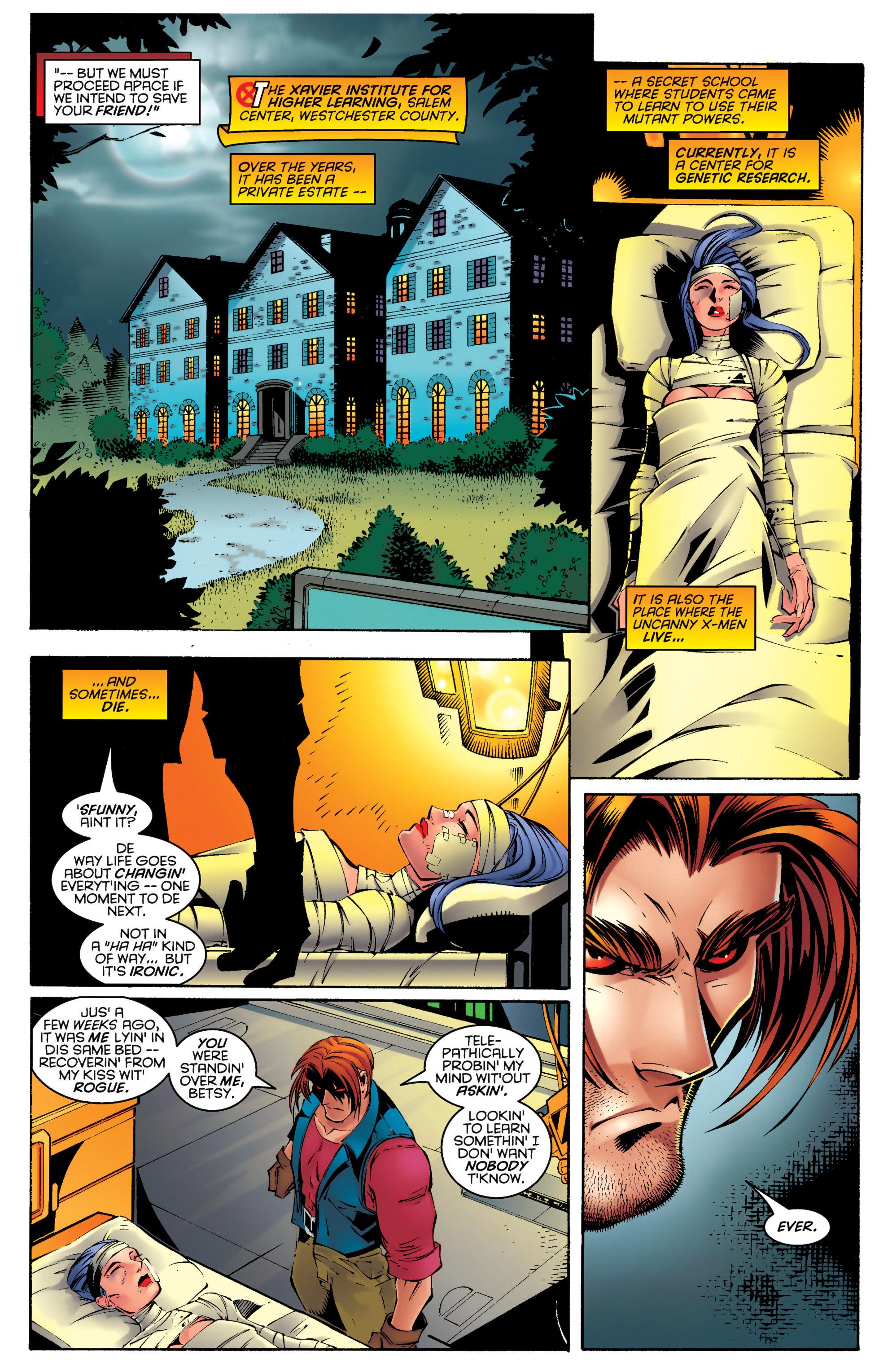 Read online Uncanny X-Men (1963) comic -  Issue #330 - 8