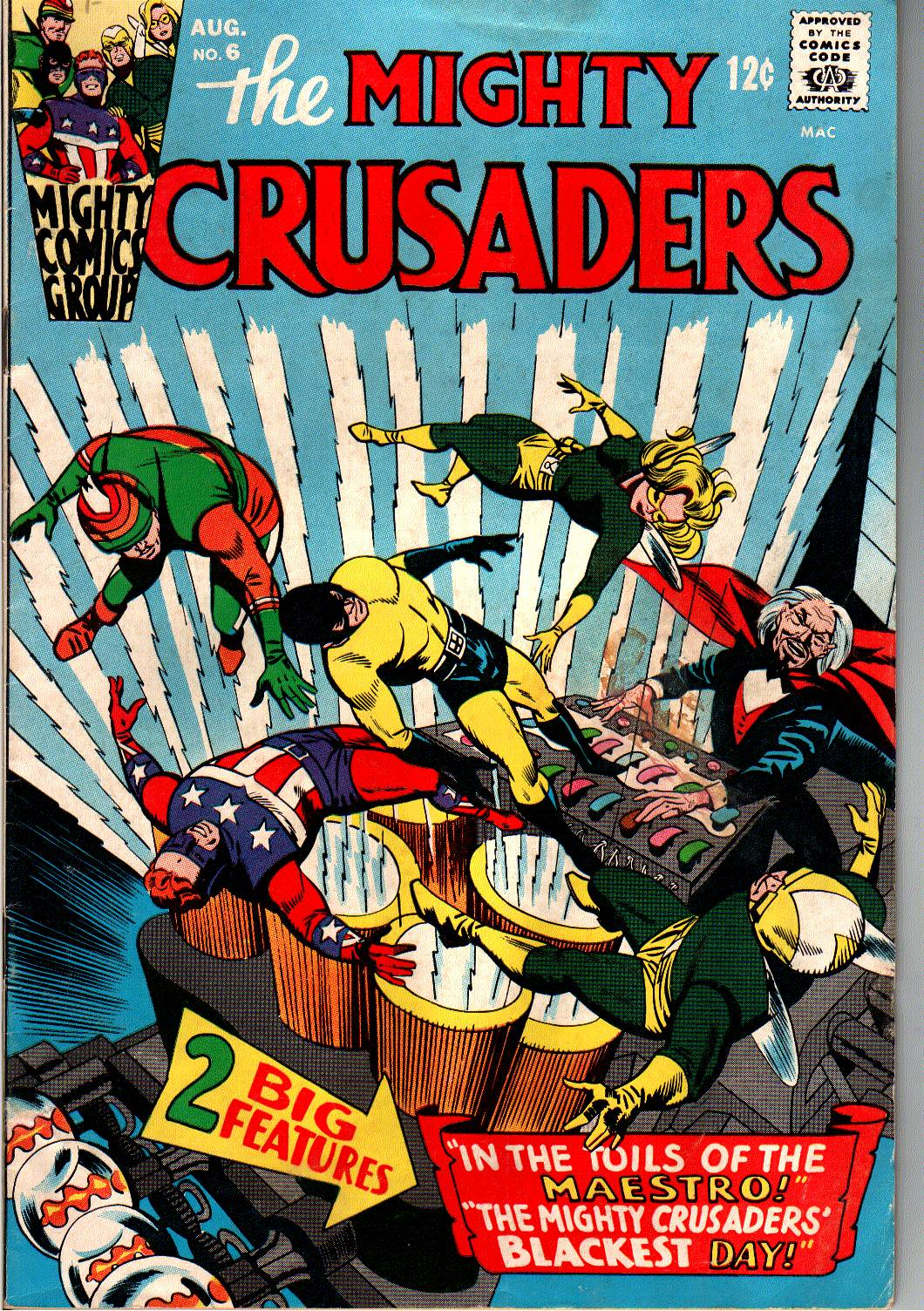 The Mighty Crusaders (1965) Issue #6 #6 - English 1