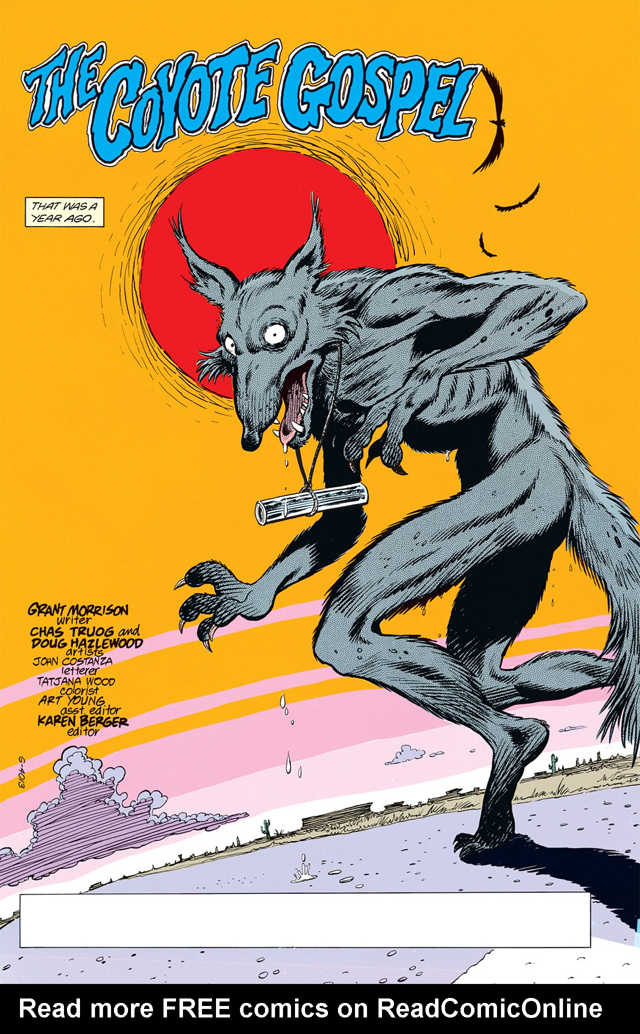 Read online Animal Man (1988) comic -  Issue #5 - 7