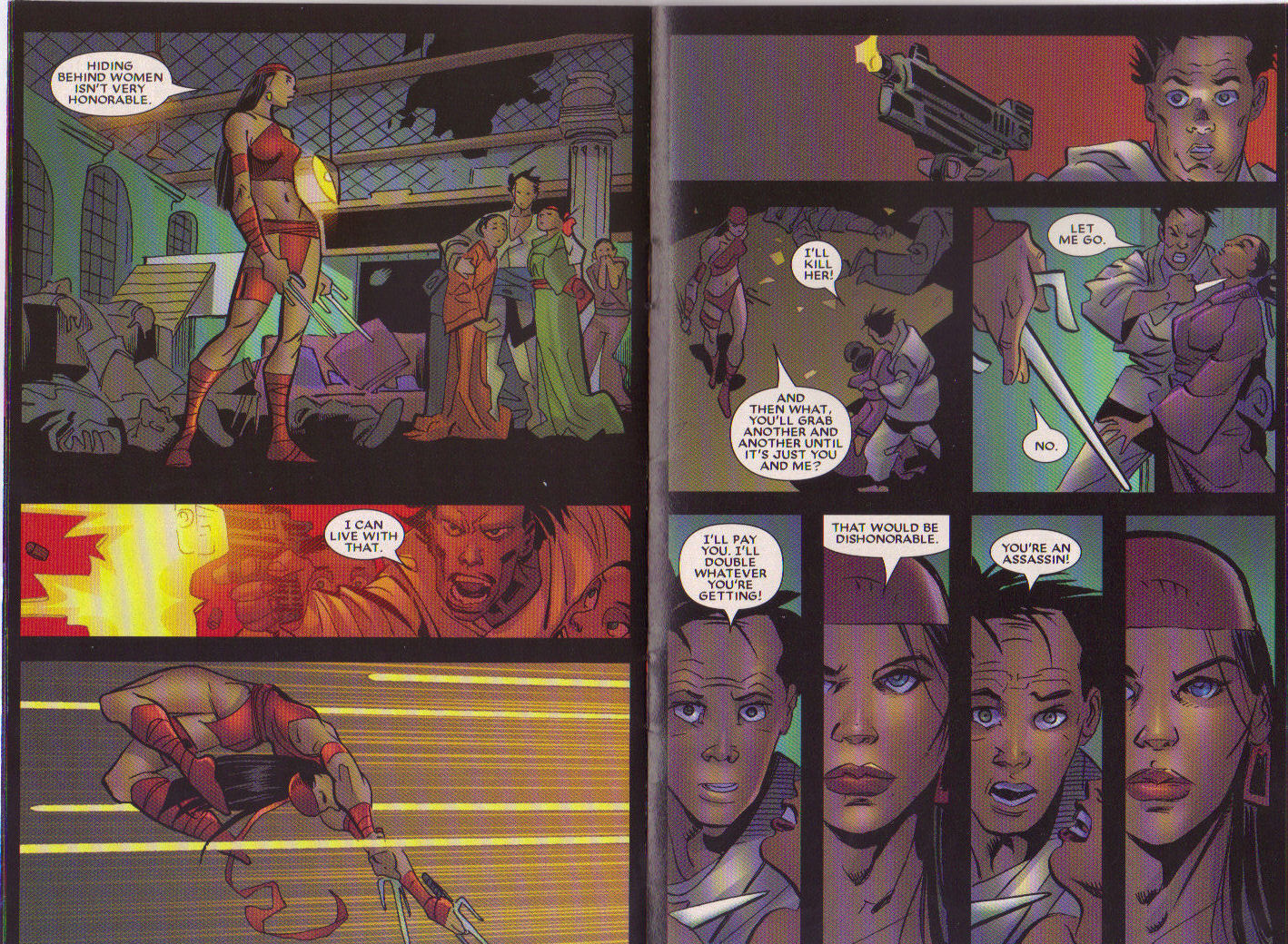 Read online Elektra: On the Rise comic -  Issue # Full - 10