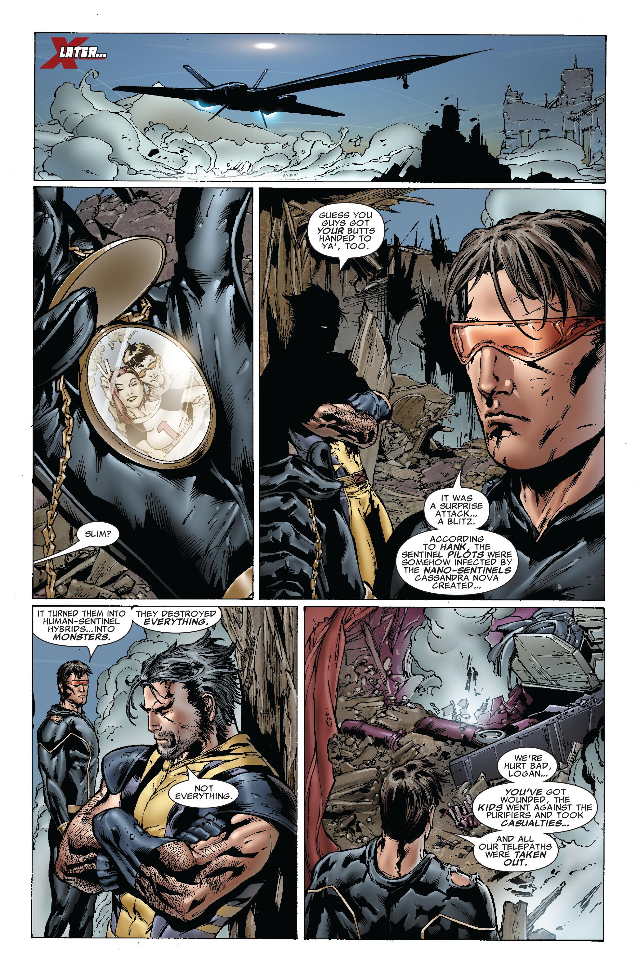Read online Uncanny X-Men (1963) comic -  Issue #493 - 22