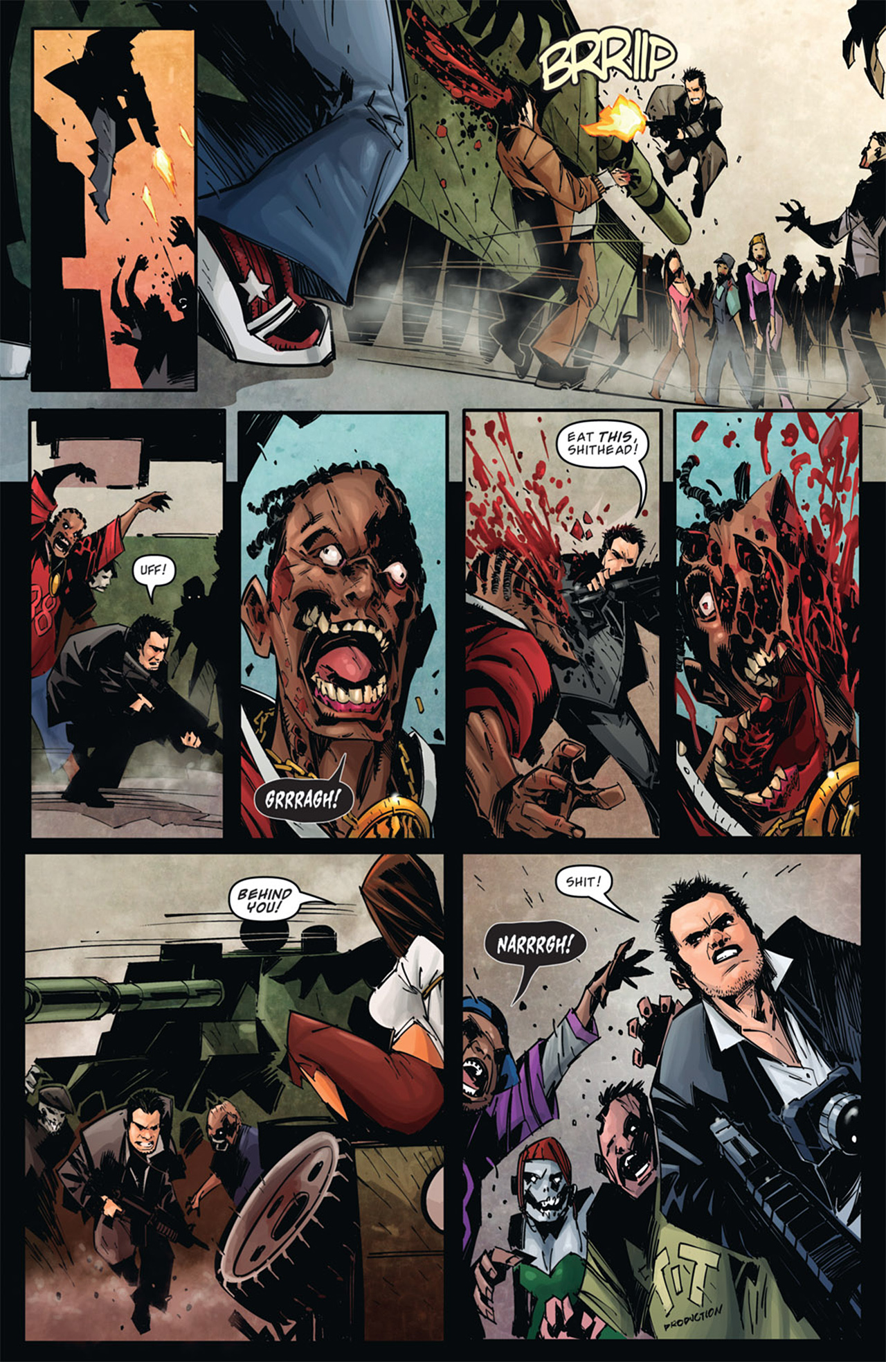 Read online Dead Rising: Road to Fortune comic -  Issue # TPB - 11
