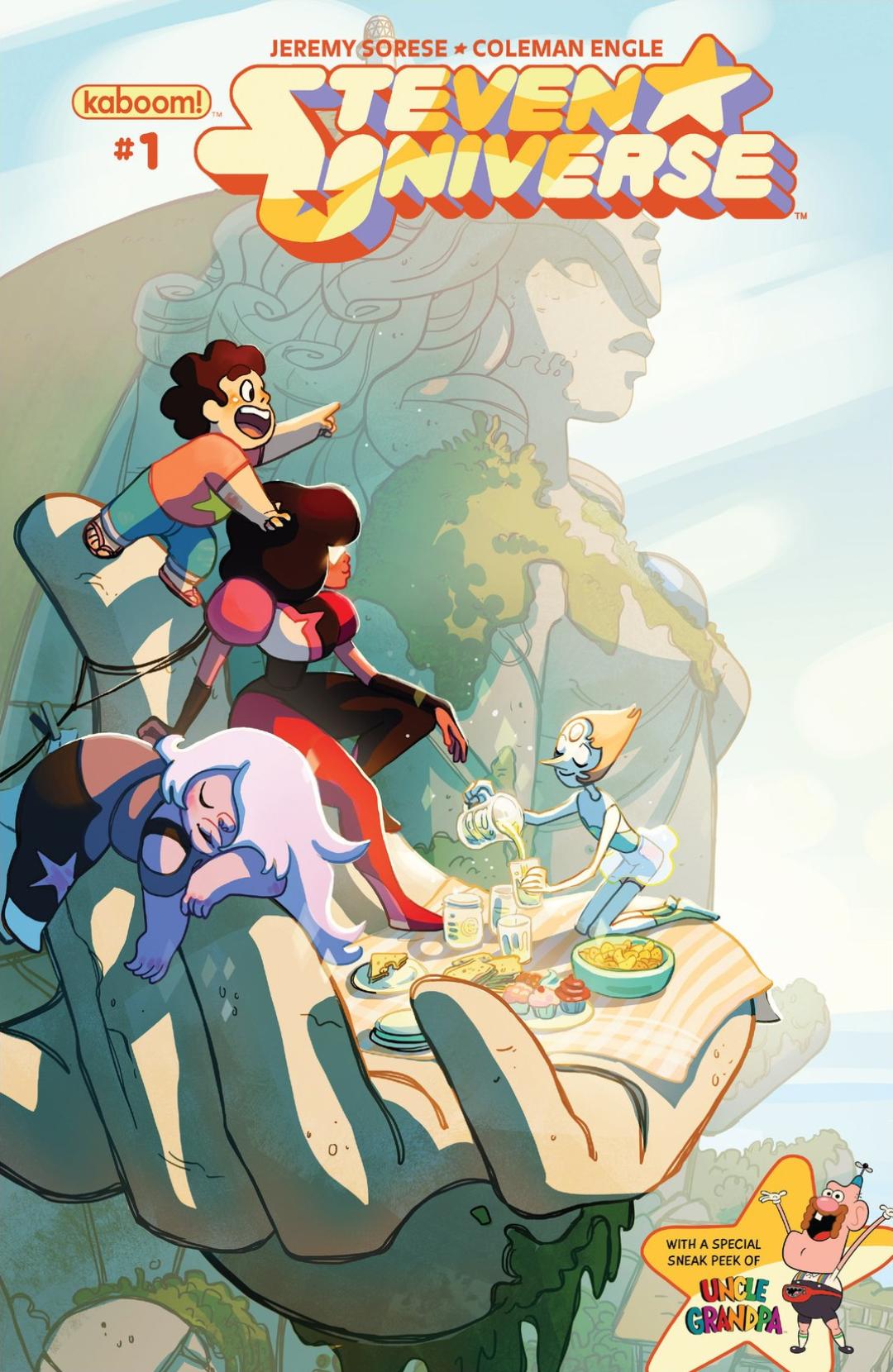 Steven Universe 1 Page 1