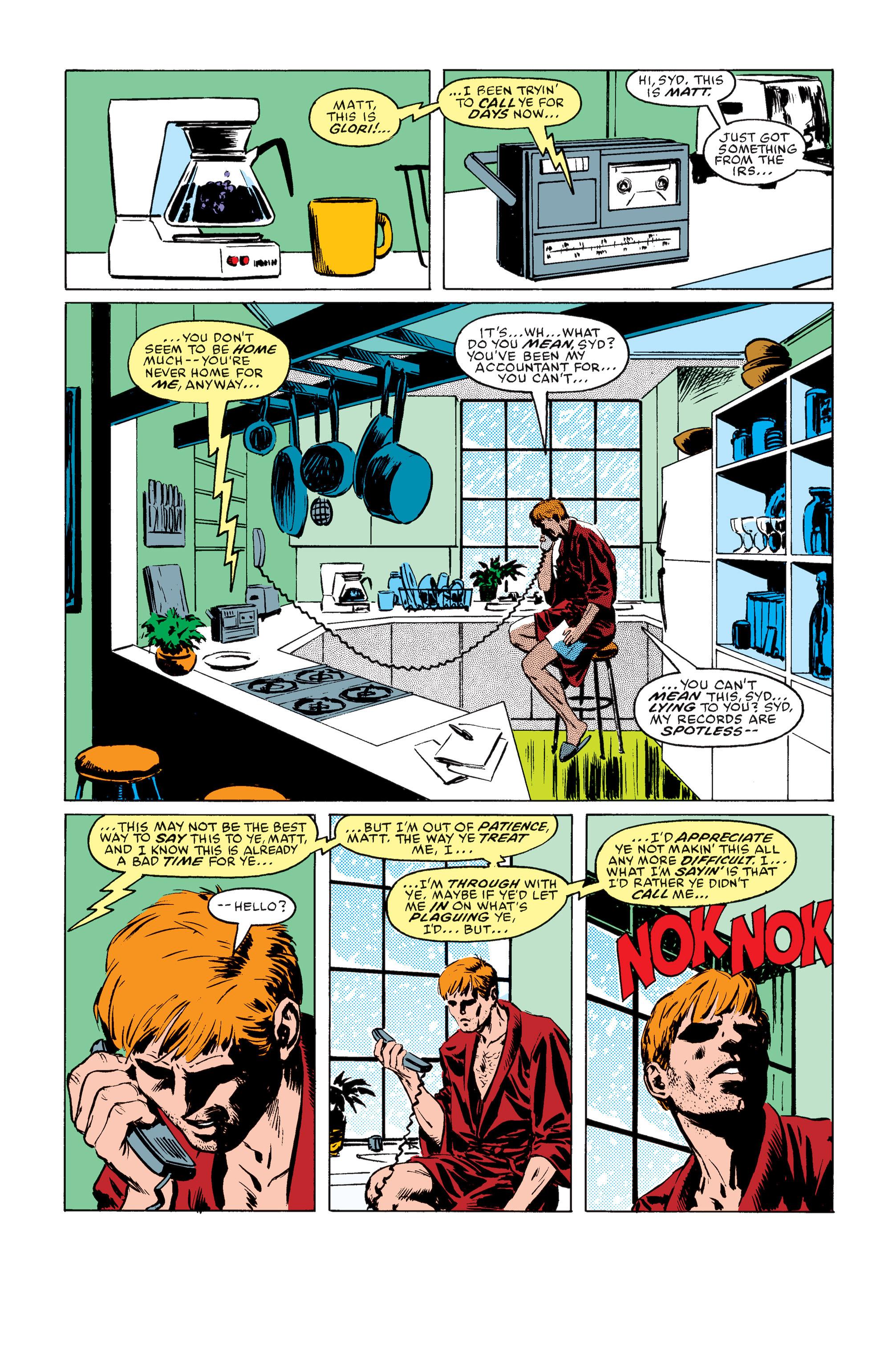 Read online Daredevil: Born Again comic -  Issue # Full - 35