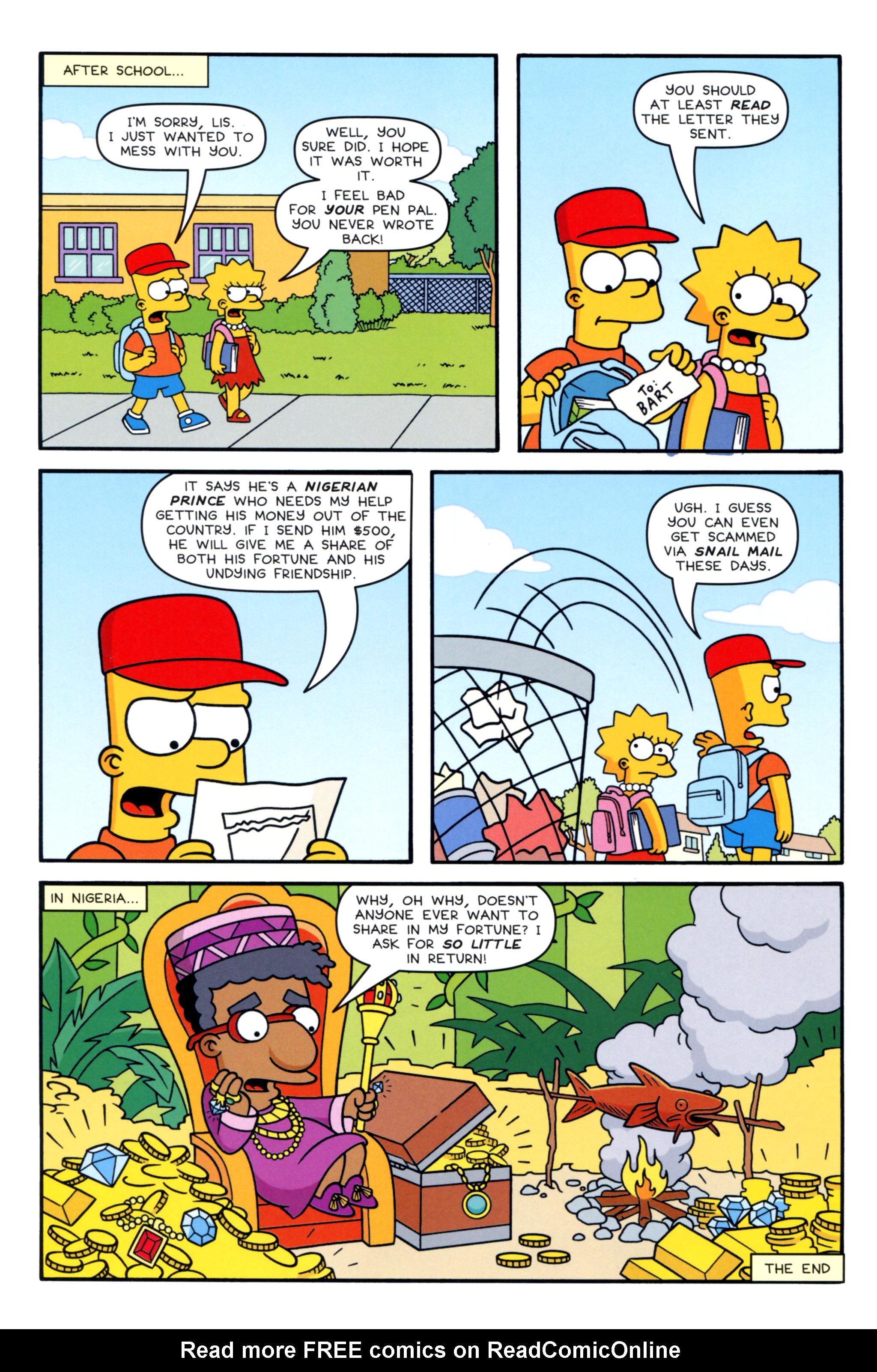 Read online Simpsons Comics Presents Bart Simpson comic -  Issue #93 - 12