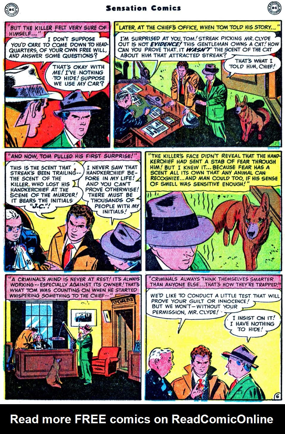 Read online Sensation (Mystery) Comics comic -  Issue #91 - 22