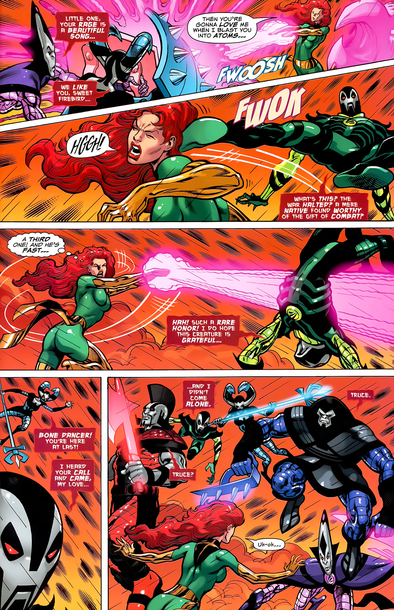 Read online Uncanny X-Men: First Class comic -  Issue #6 - 20