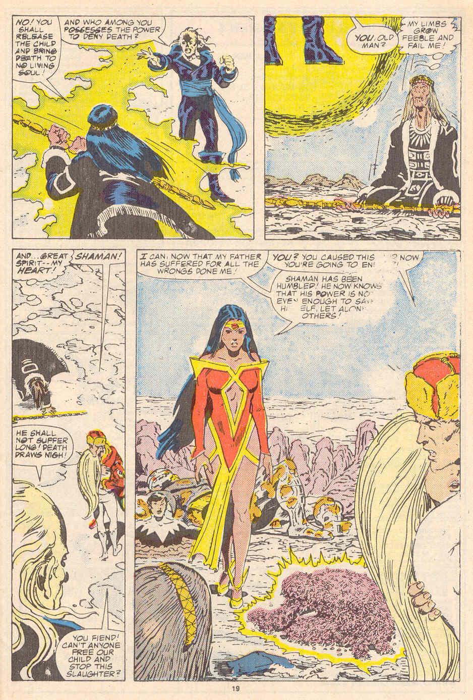 Read online Alpha Flight (1983) comic -  Issue #37 - 20