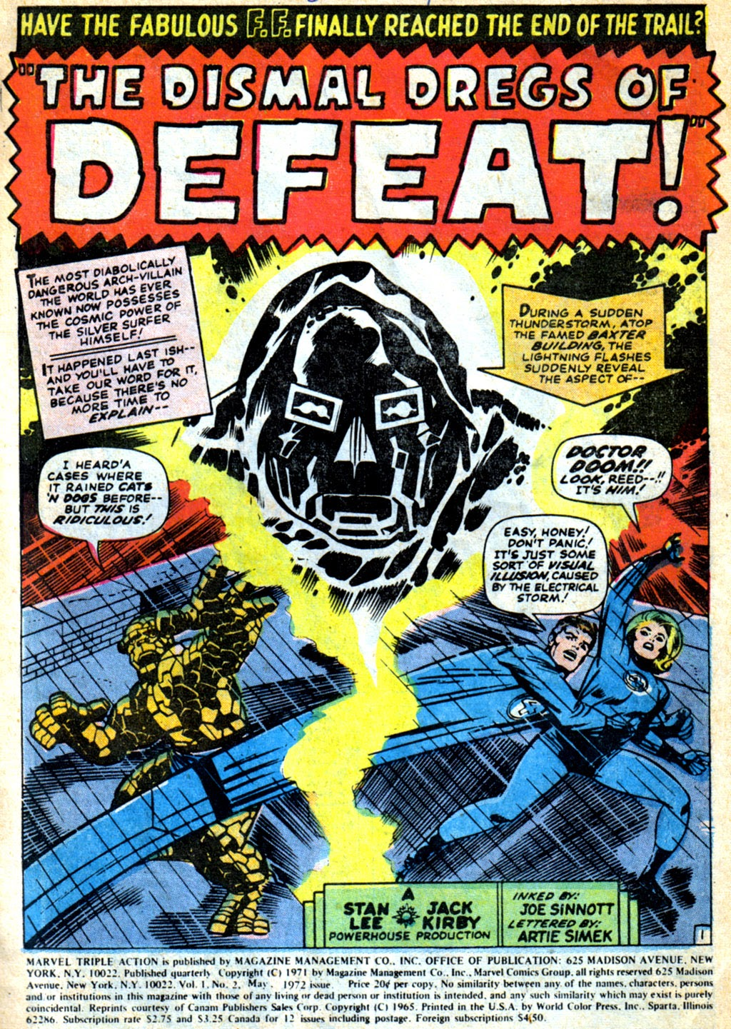 Marvel Triple Action (1972) issue 2 - Page 2