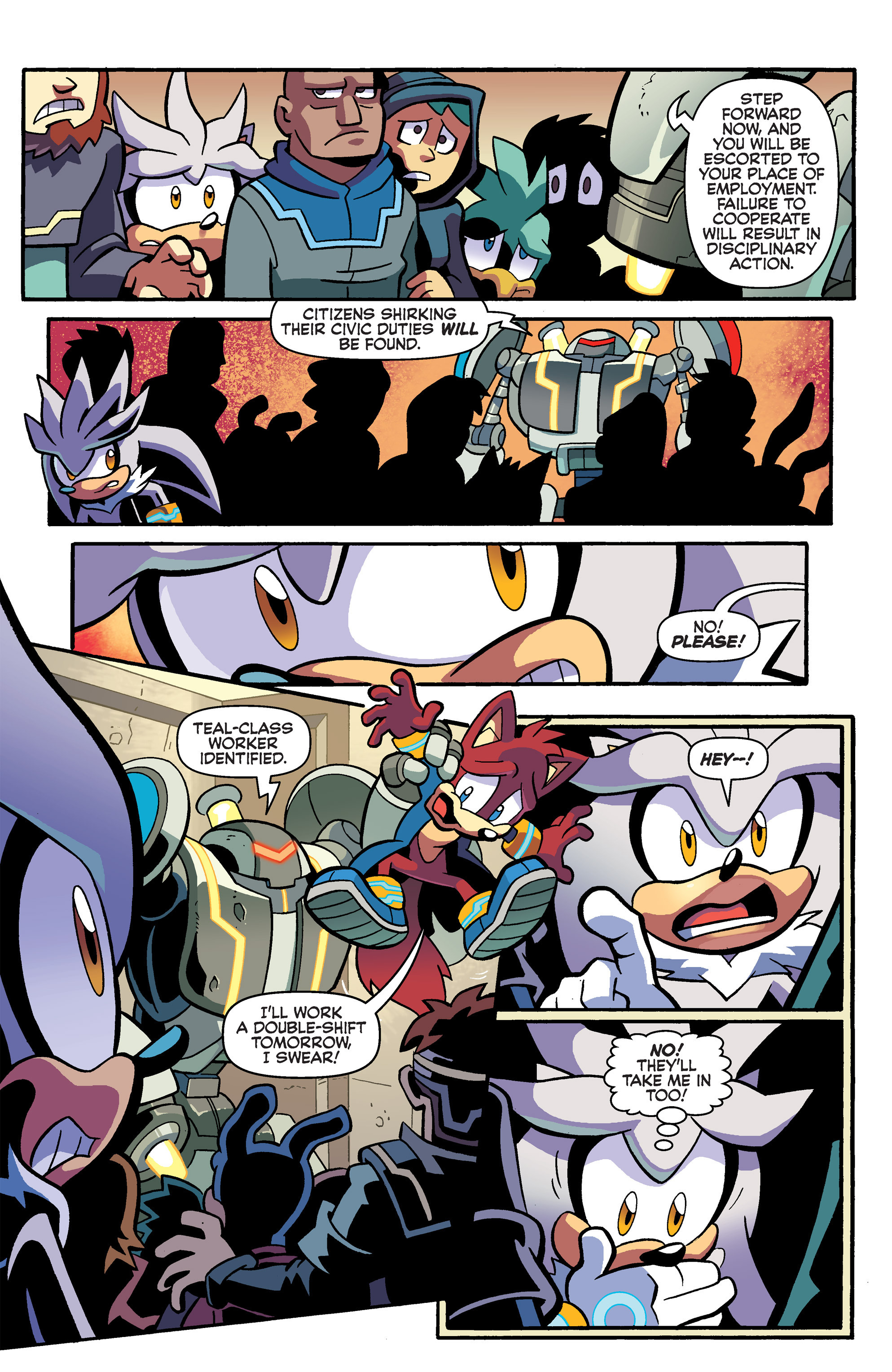 Read online Sonic Universe comic -  Issue #79 - 6
