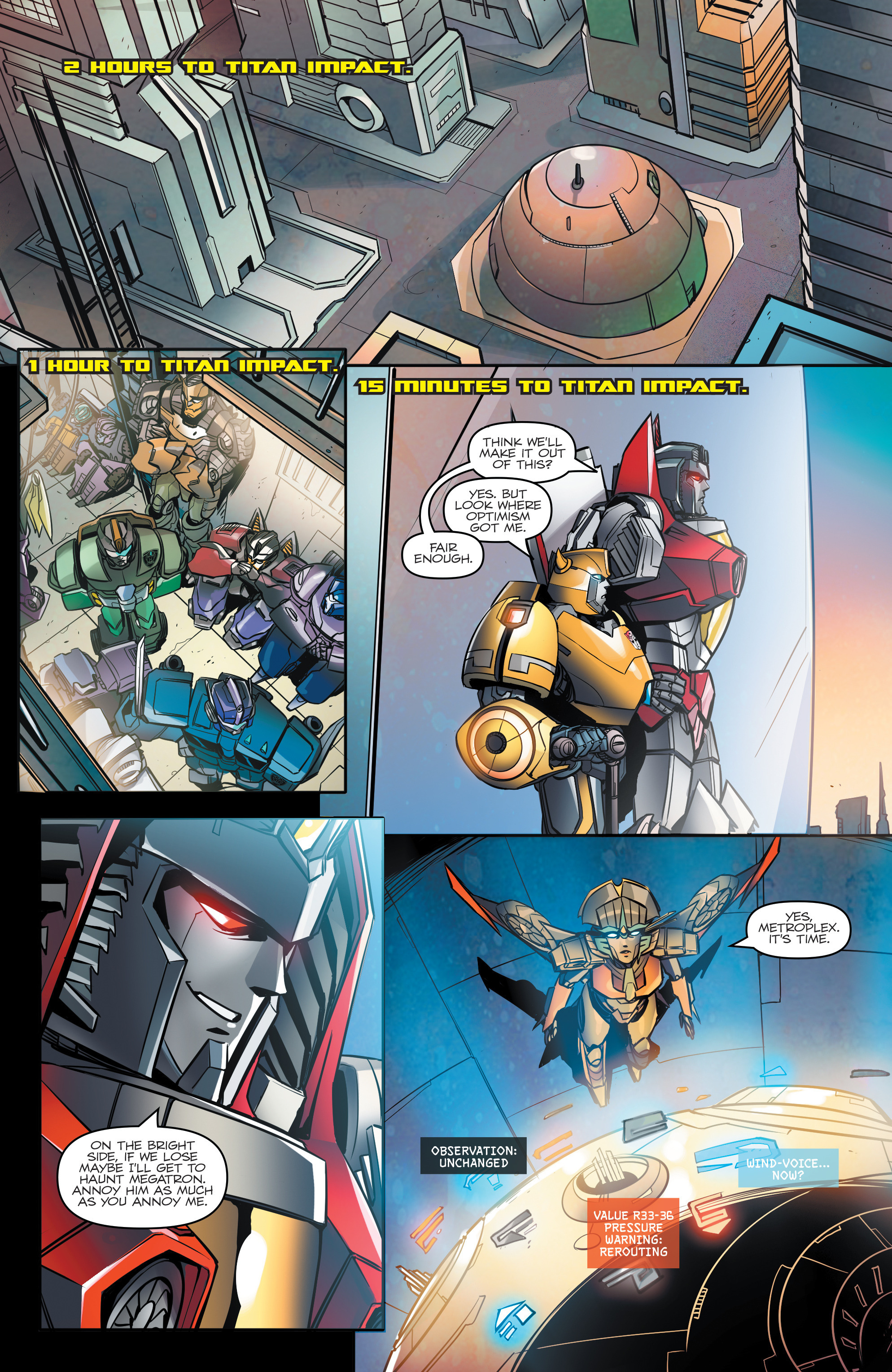 Read online Transformers: Till All Are One comic -  Issue #5 - 15