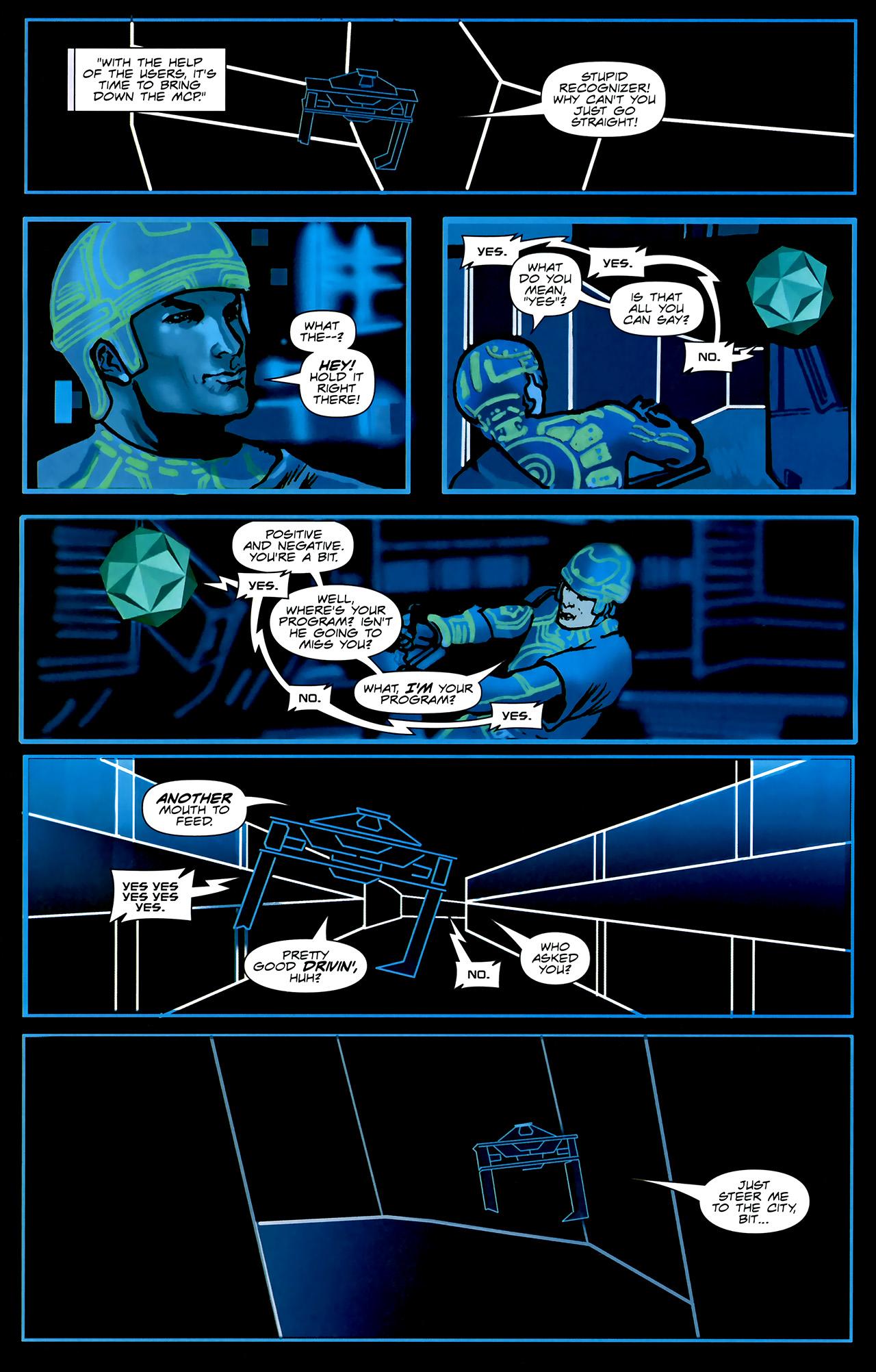 Read online TRON: Original Movie Adaptation comic -  Issue #2 - 16