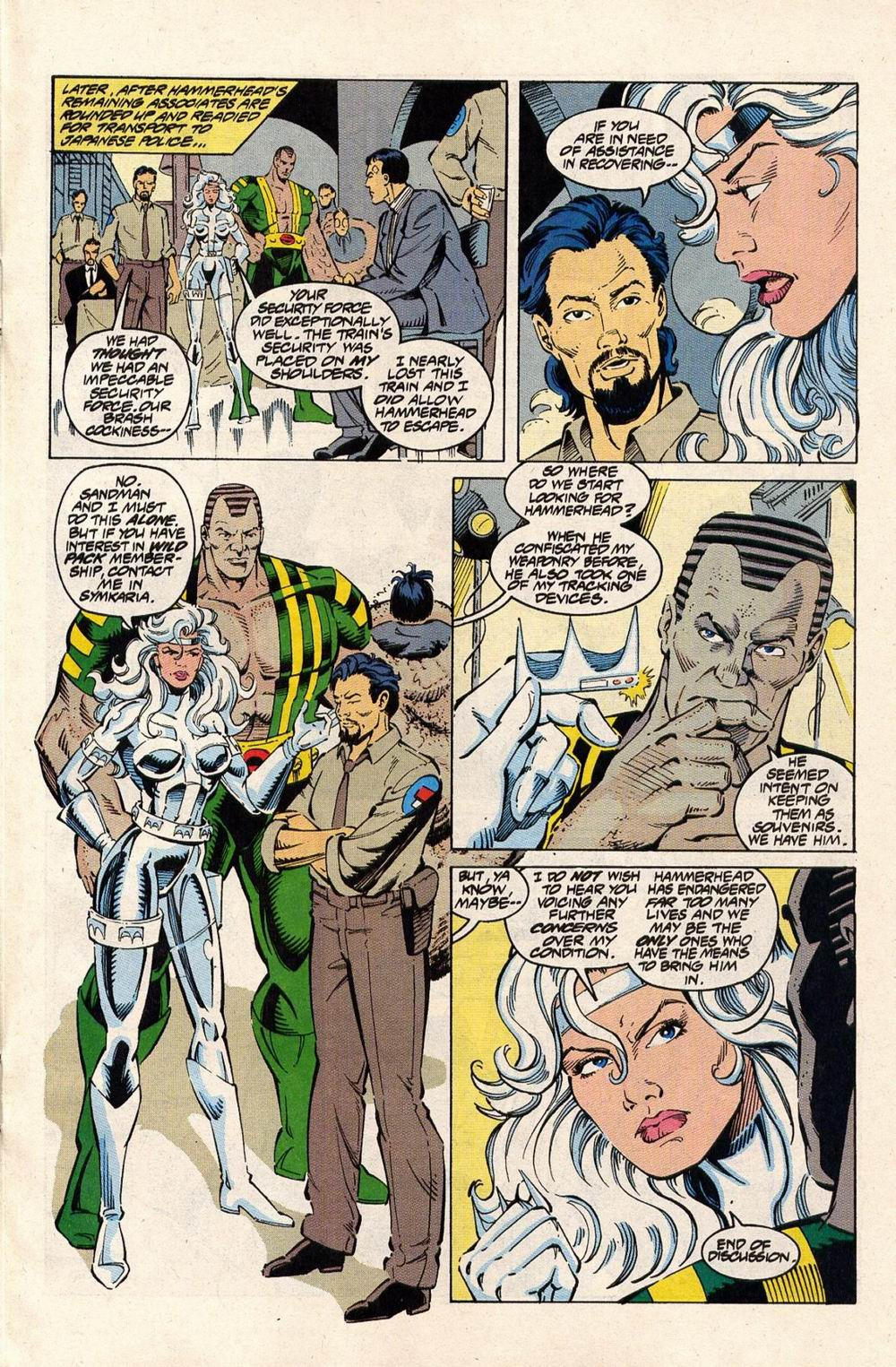 Read online Silver Sable and the Wild Pack comic -  Issue #33 - 9
