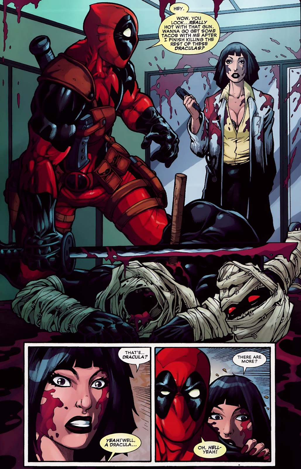 Read online Deadpool (2008) comic -  Issue #30 - 16