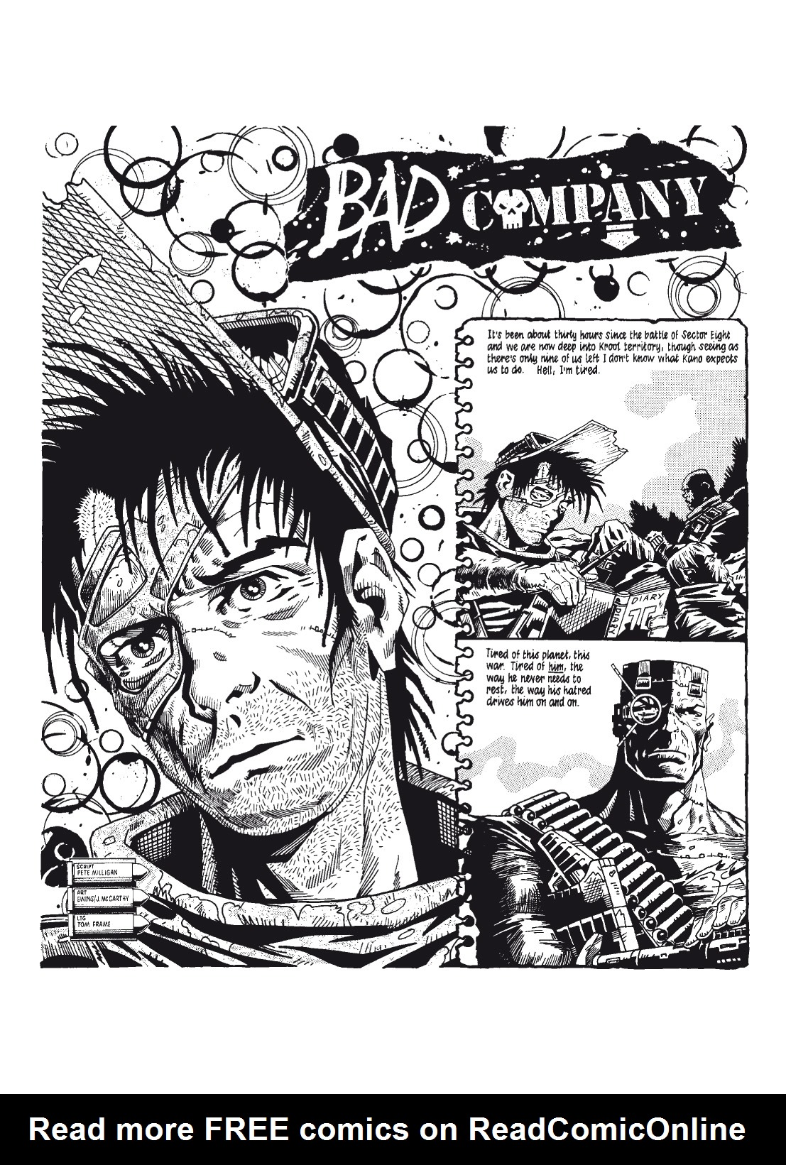 Read online The Complete Bad Company comic -  Issue # TPB - 80
