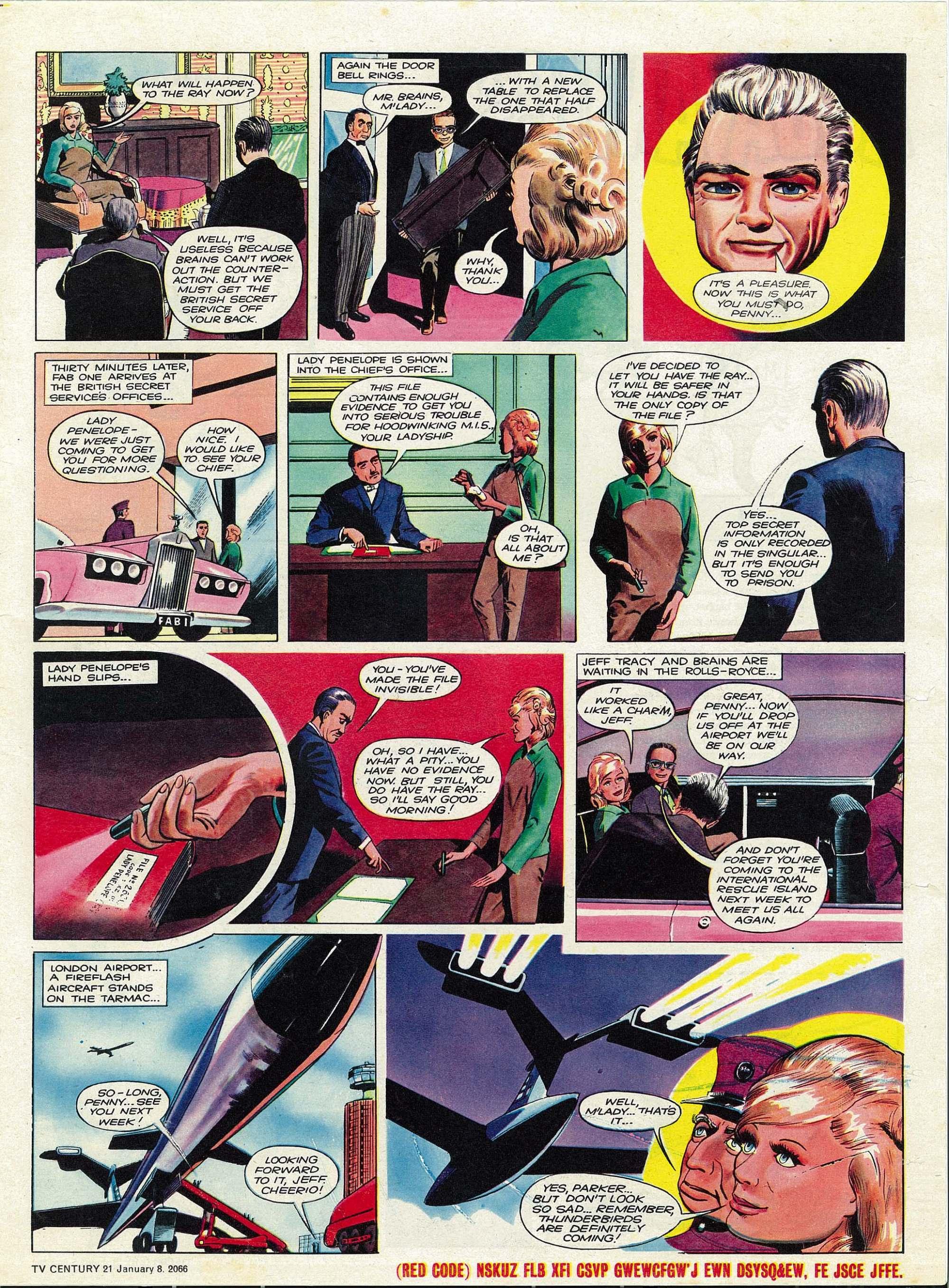 Read online TV Century 21 (TV 21) comic -  Issue #51 - 16