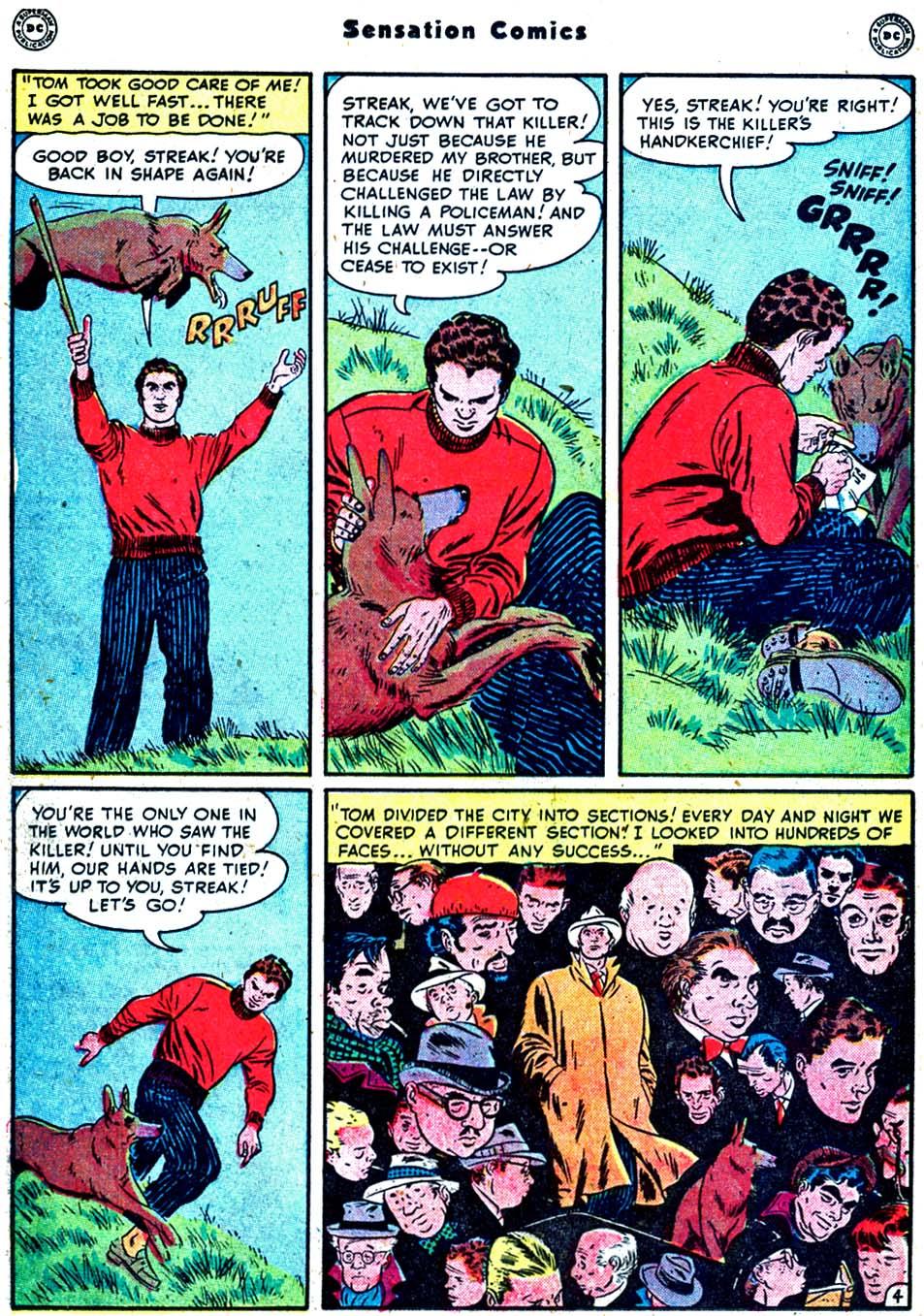 Read online Sensation (Mystery) Comics comic -  Issue #91 - 20