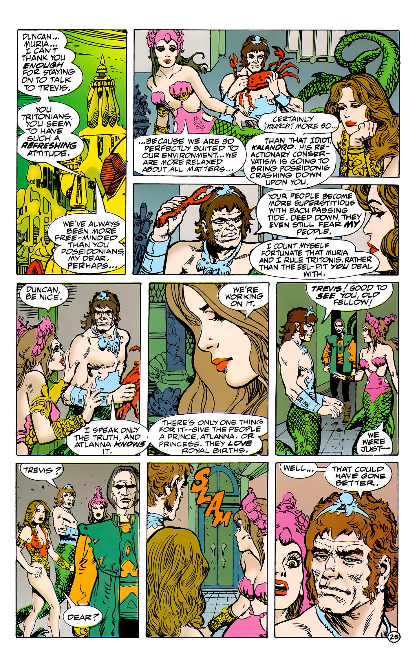 Read online Atlantis Chronicles comic -  Issue #7 - 26