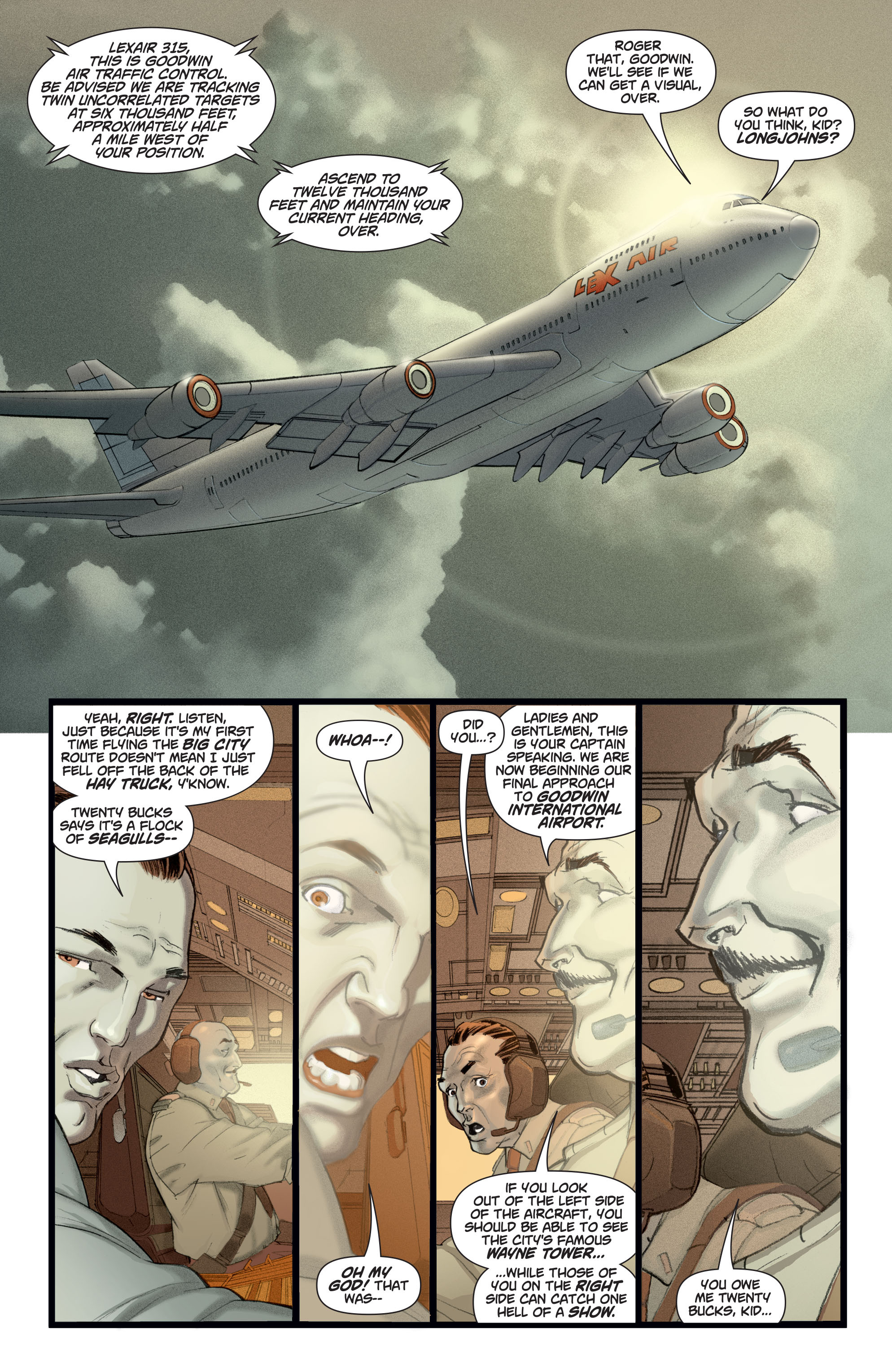 Read online Adam Strange (2004) comic -  Issue #2 - 2