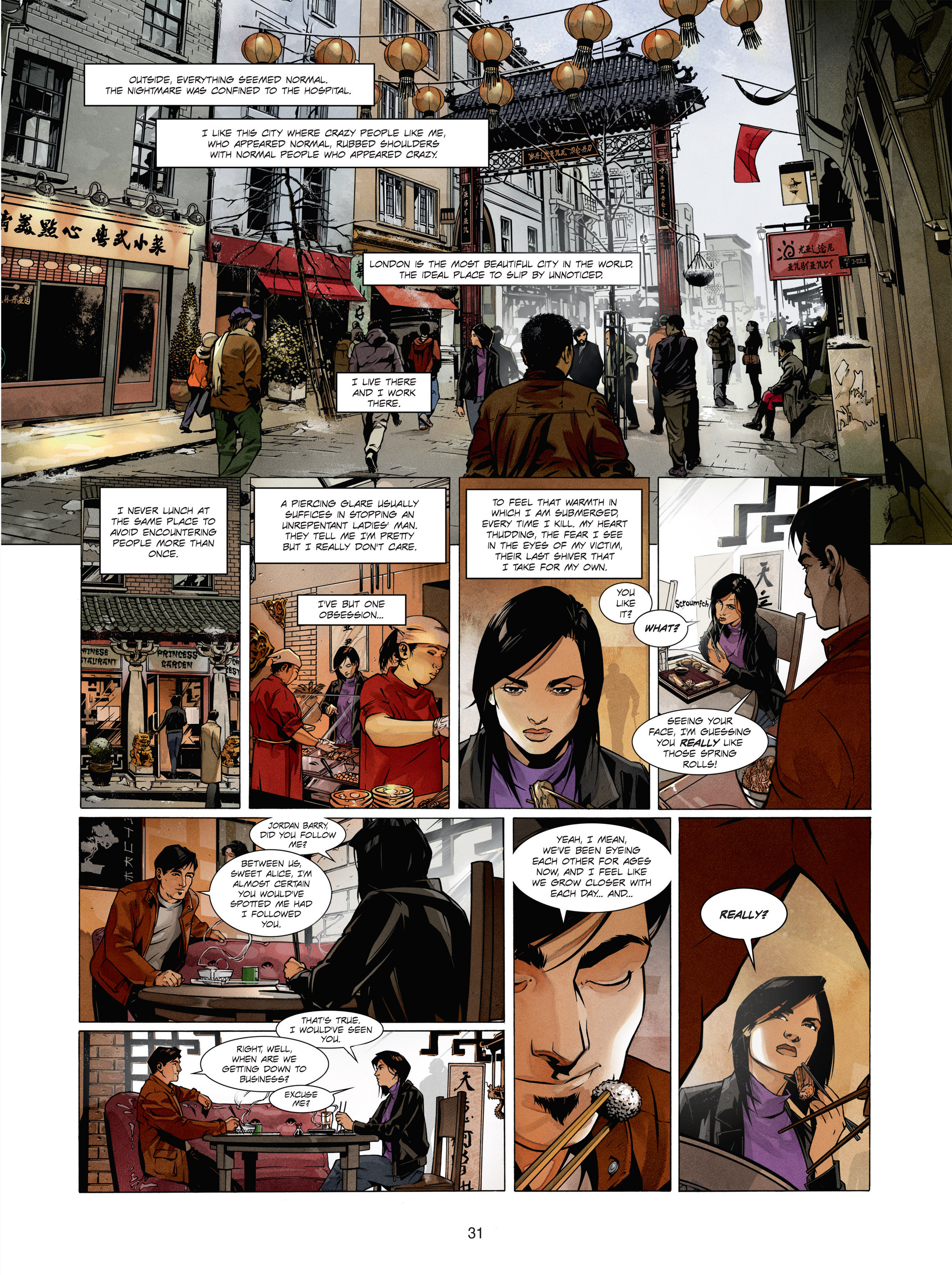 Read online Alice Matheson comic -  Issue #1 - 30