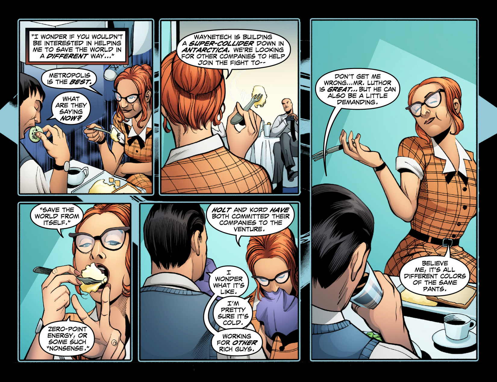 Read online Smallville: Season 11 comic -  Issue #15 - 9