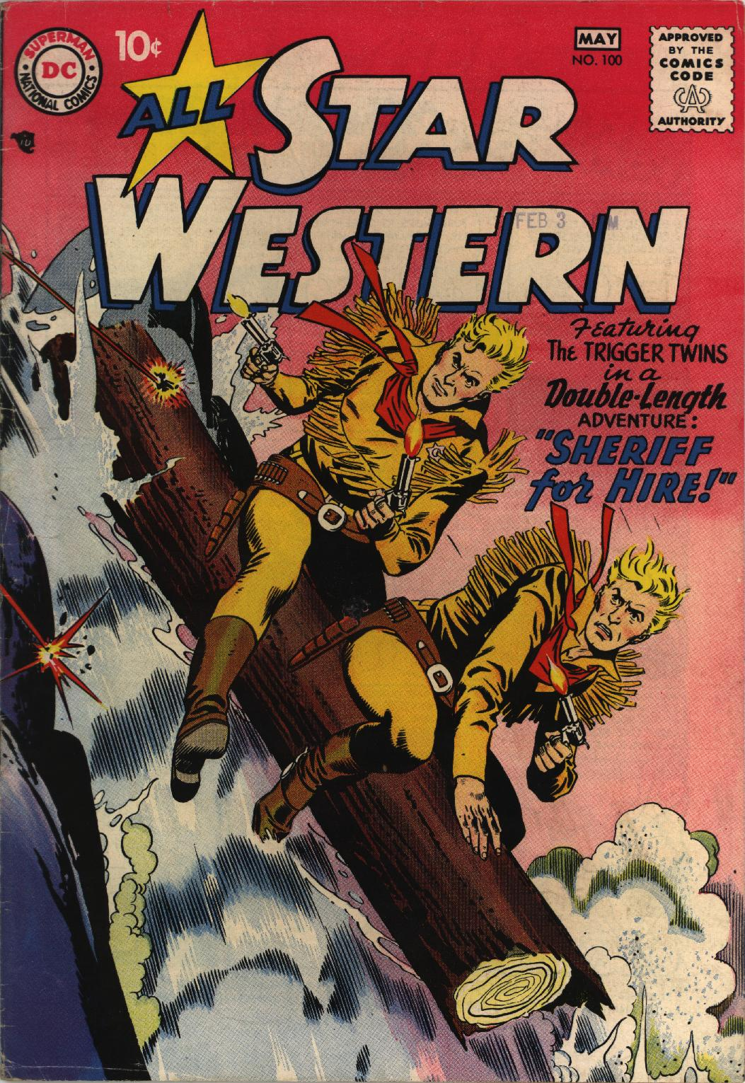 Read online All-Star Western (1951) comic -  Issue #100 - 1