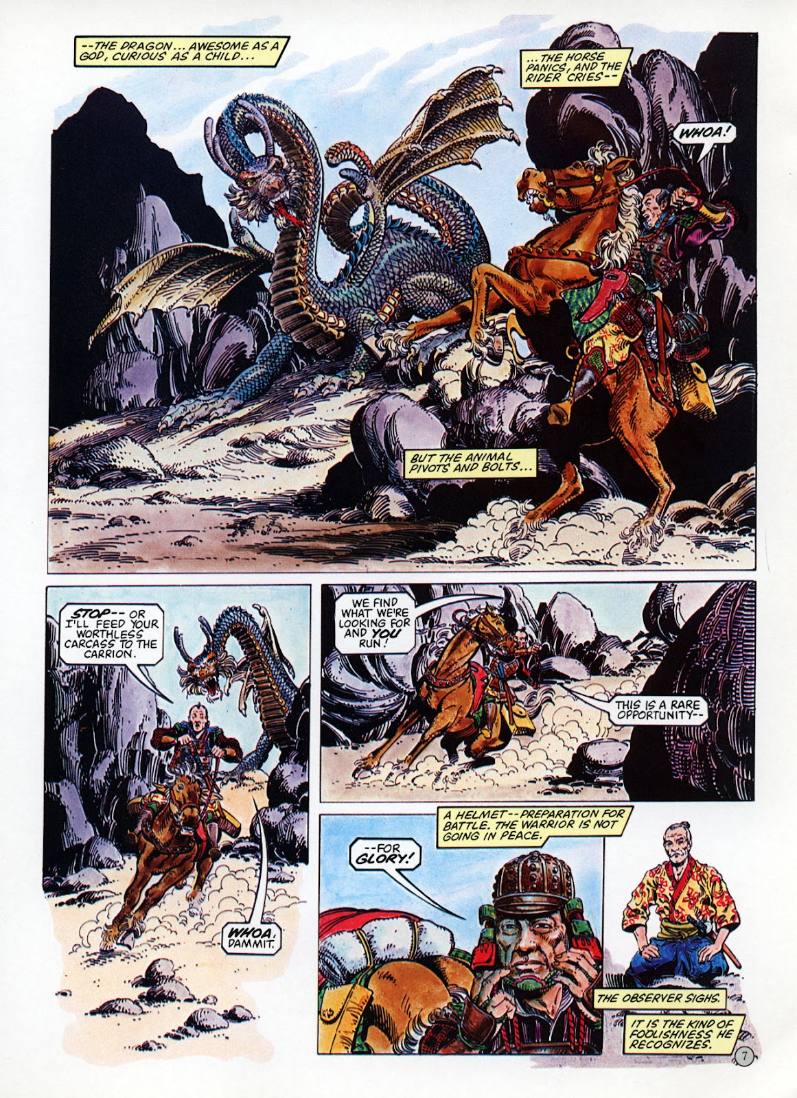 Read online Epic Graphic Novel: Last of the Dragons comic -  Issue # Full - 8