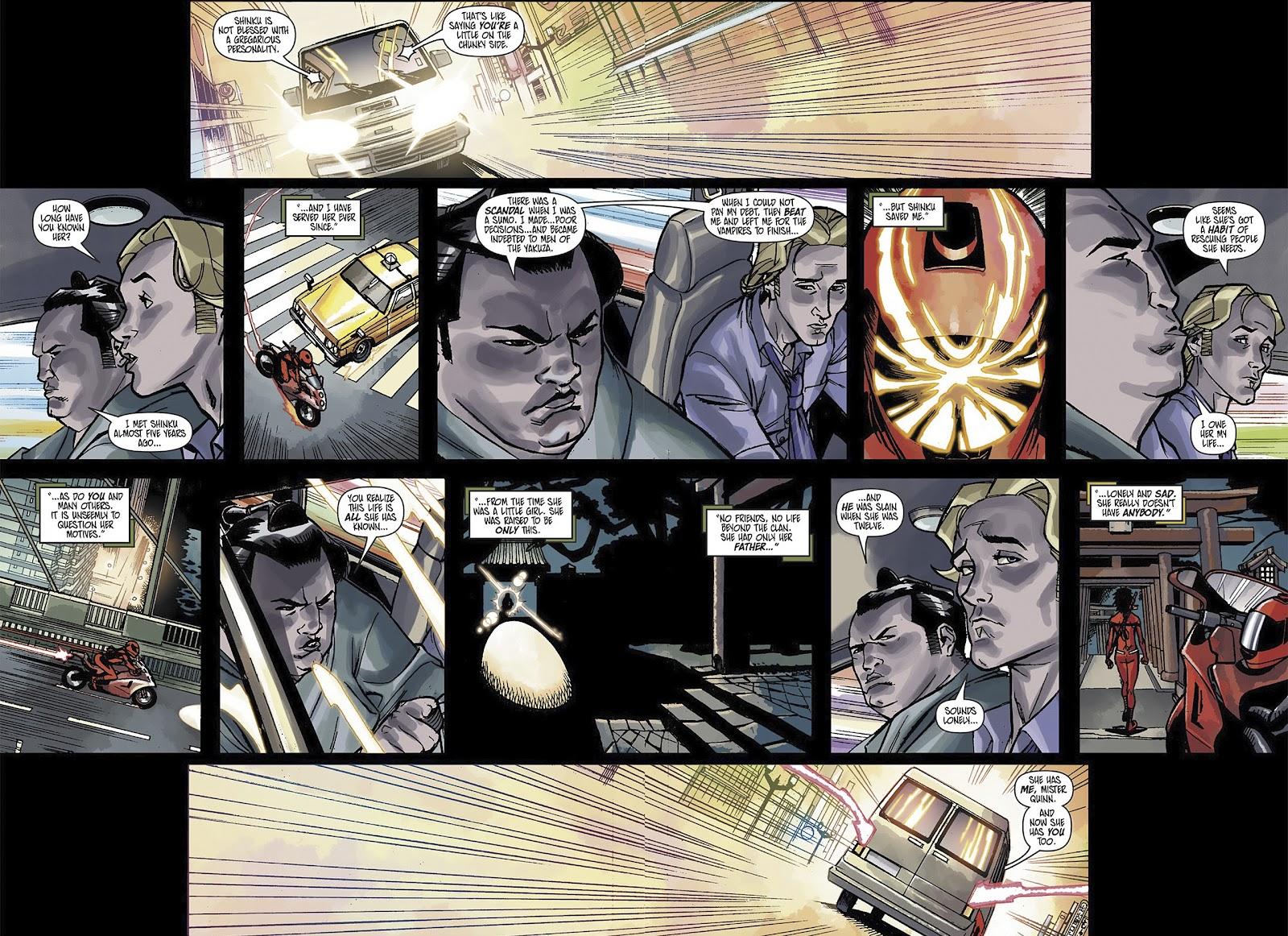 Read online Shinku comic -  Issue #3 - 16