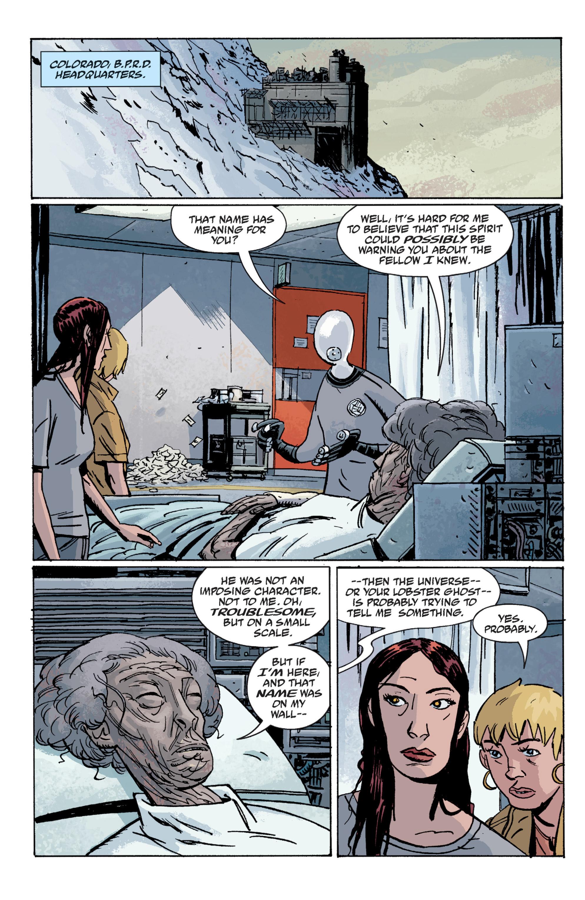 Read online B.P.R.D. (2003) comic -  Issue # TPB 10 - 32