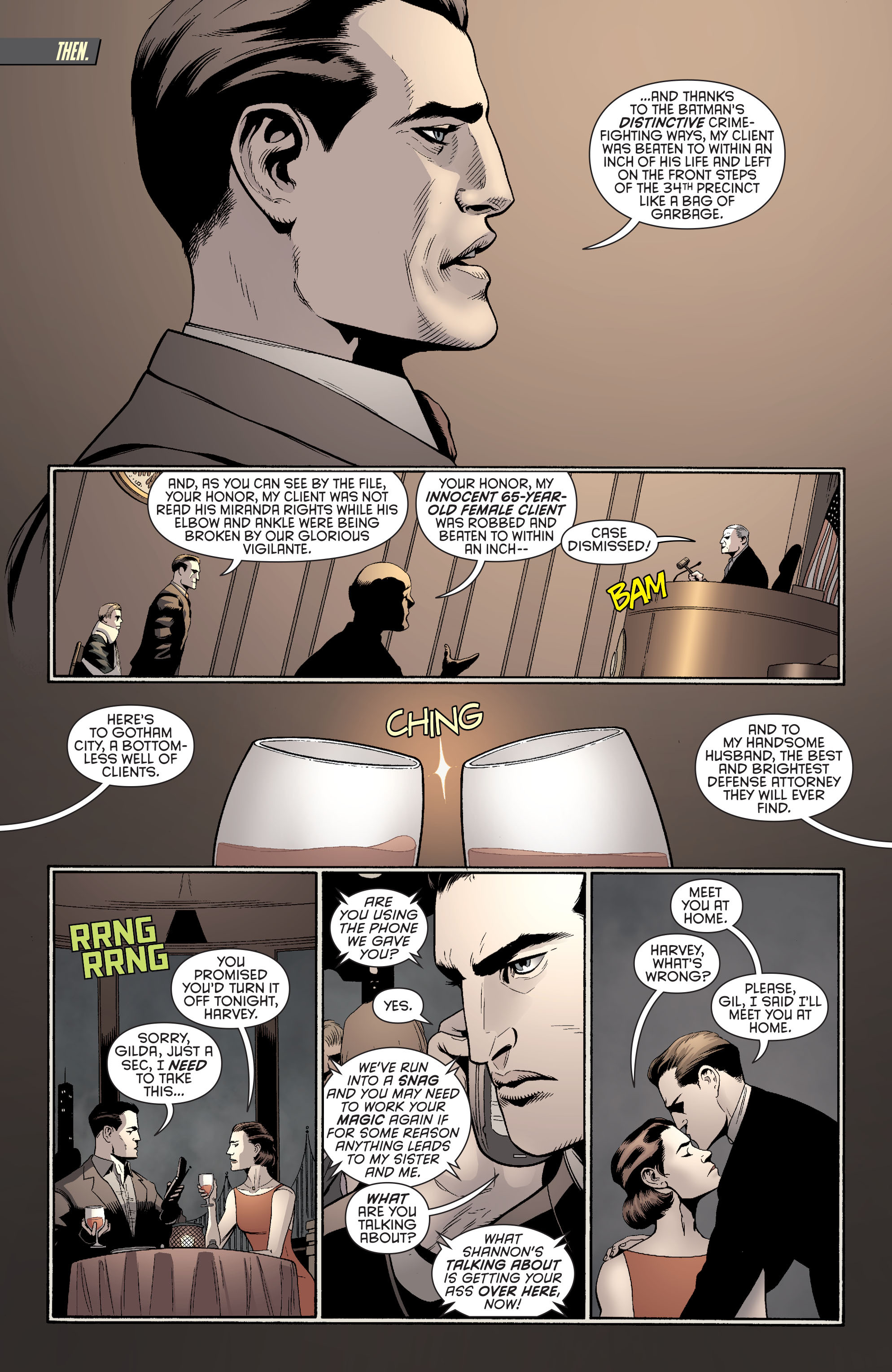 Read online Batman and Robin (2011) comic -  Issue #27 - Batman and Two-Face - 13