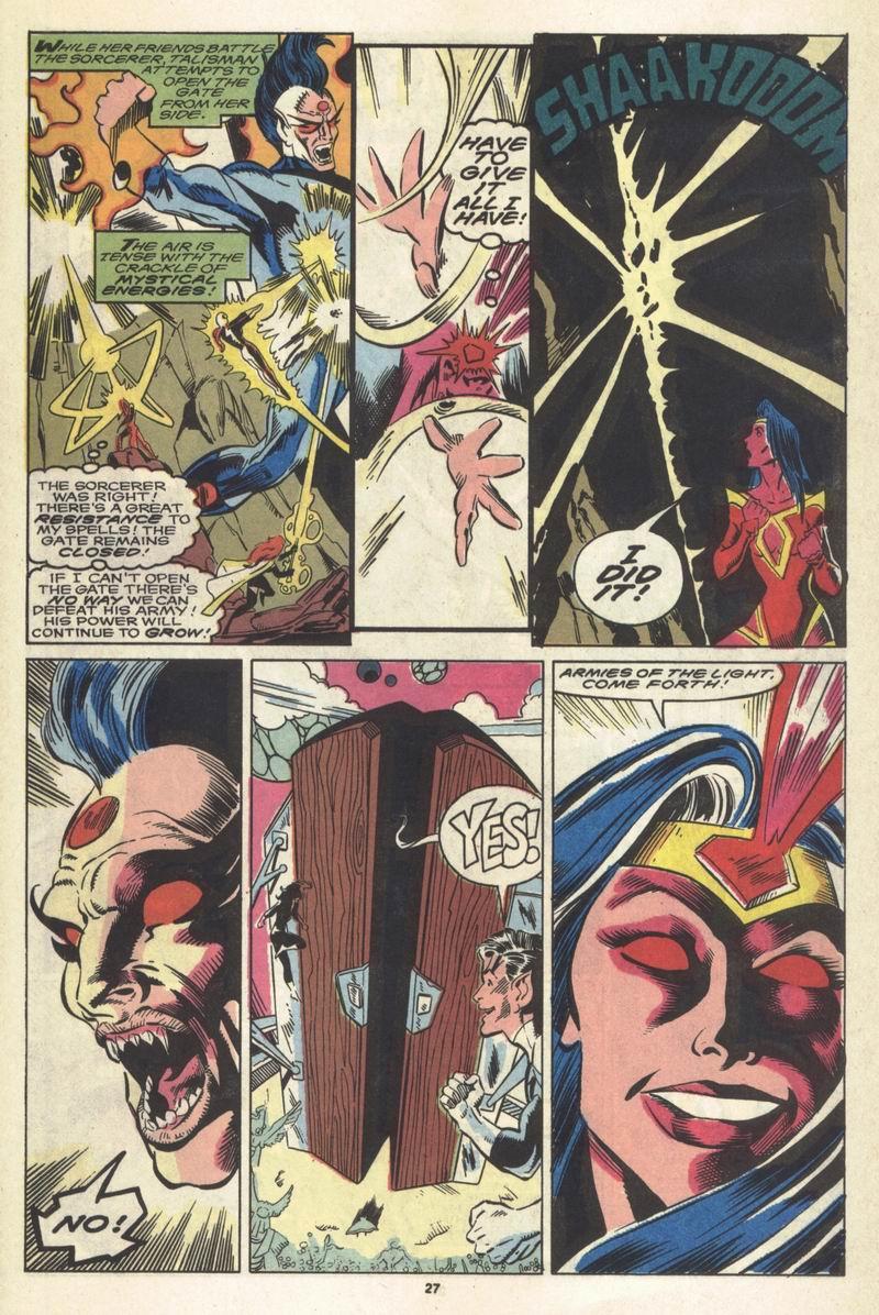 Read online Alpha Flight (1983) comic -  Issue #86 - 22