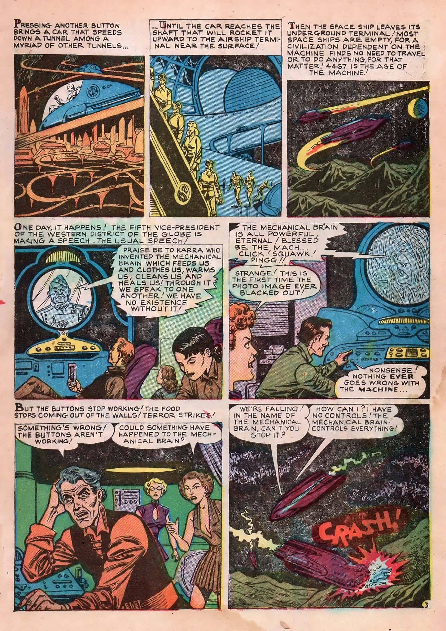 Read online Adventures into Weird Worlds comic -  Issue #2 - 5