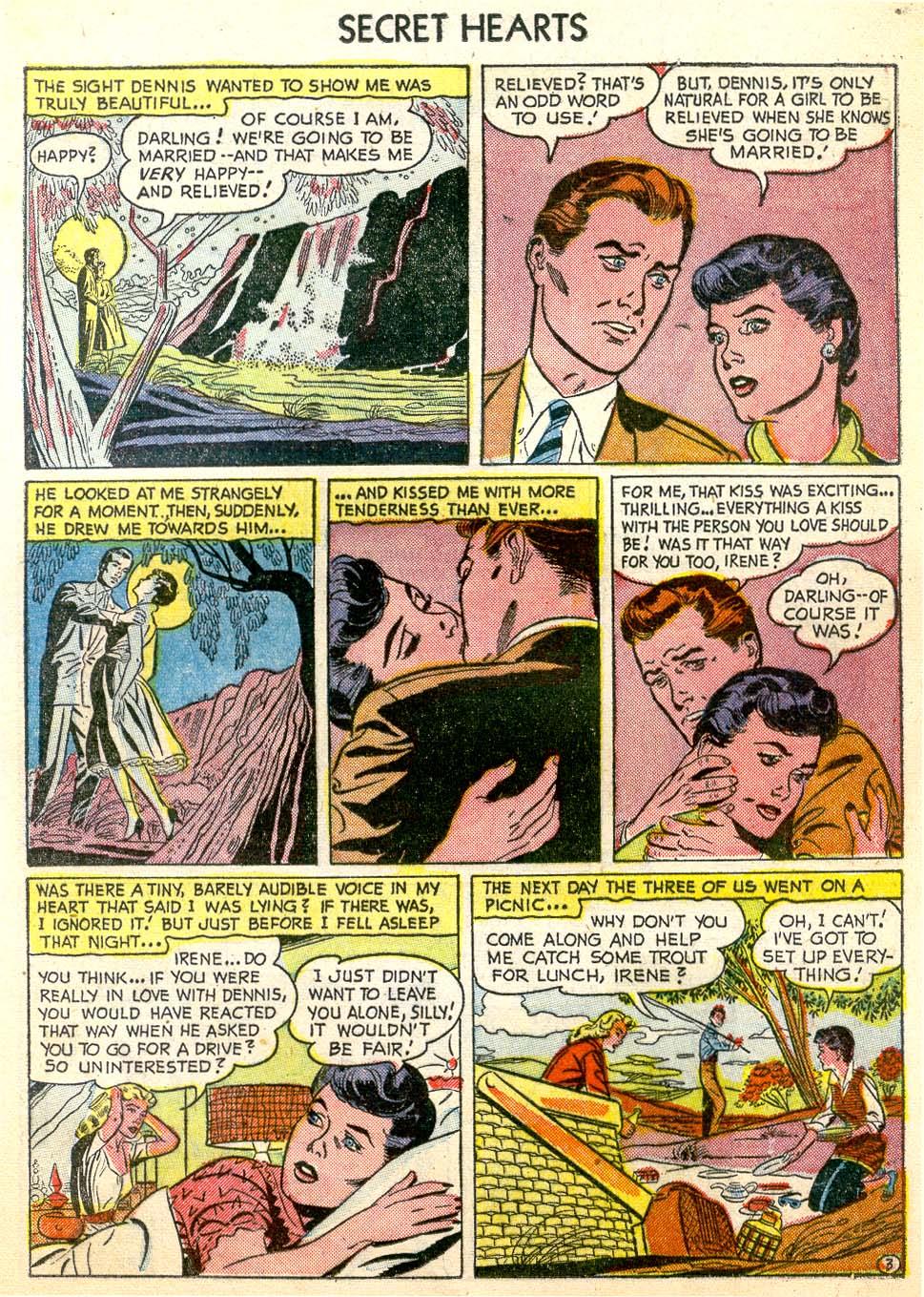 Read online Secret Hearts comic -  Issue #26 - 13