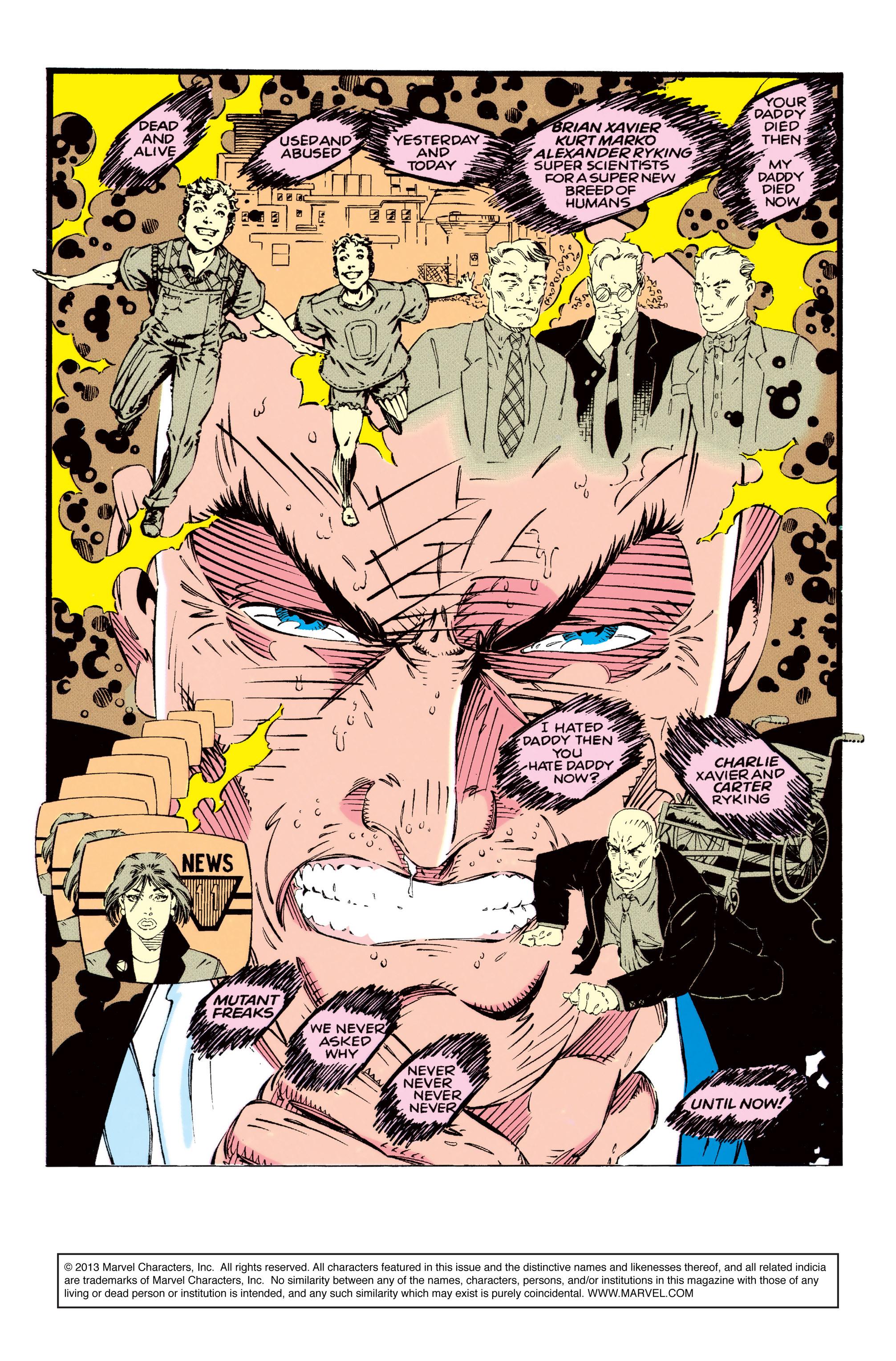 X-Men (1991) 13 Page 1