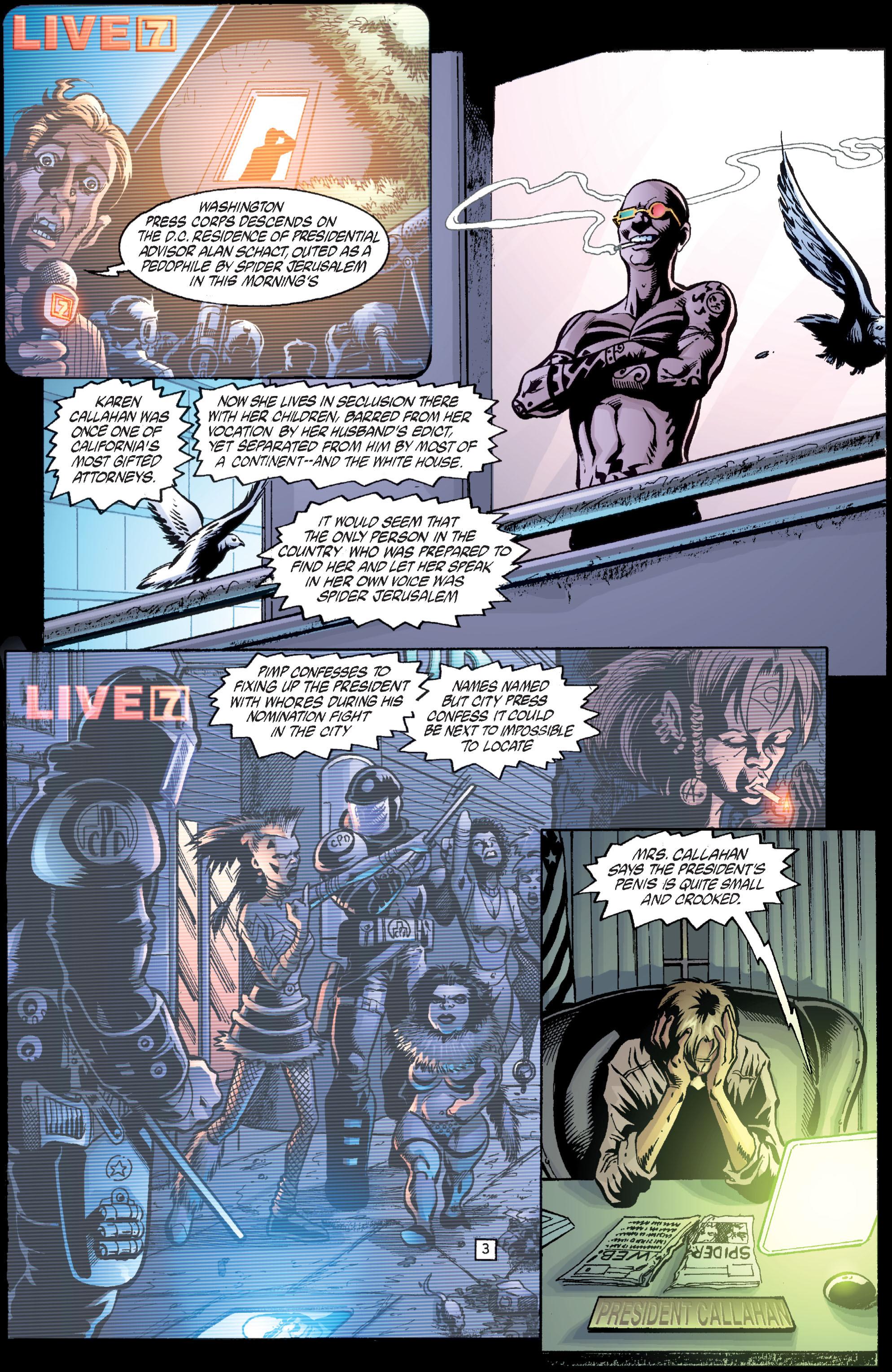 Read online Transmetropolitan comic -  Issue #36 - 4