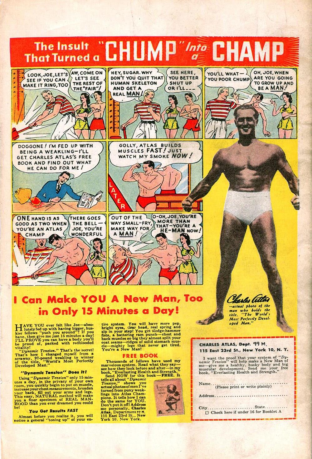 Read online Super-Magician Comics comic -  Issue #55 - 52
