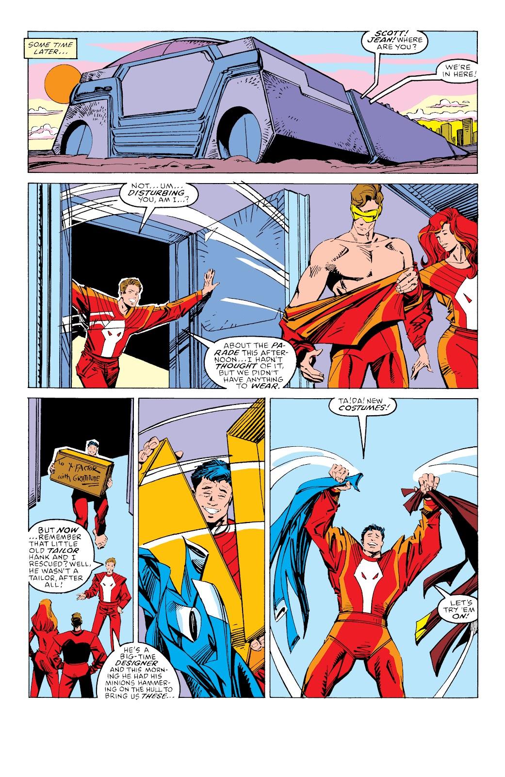 Read online X-Men Milestones: Fall of the Mutants comic -  Issue # TPB (Part 3) - 66