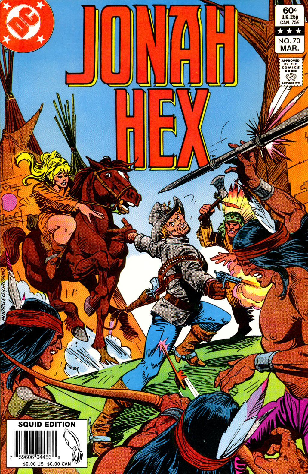 Jonah Hex (1977) 70 Page 1