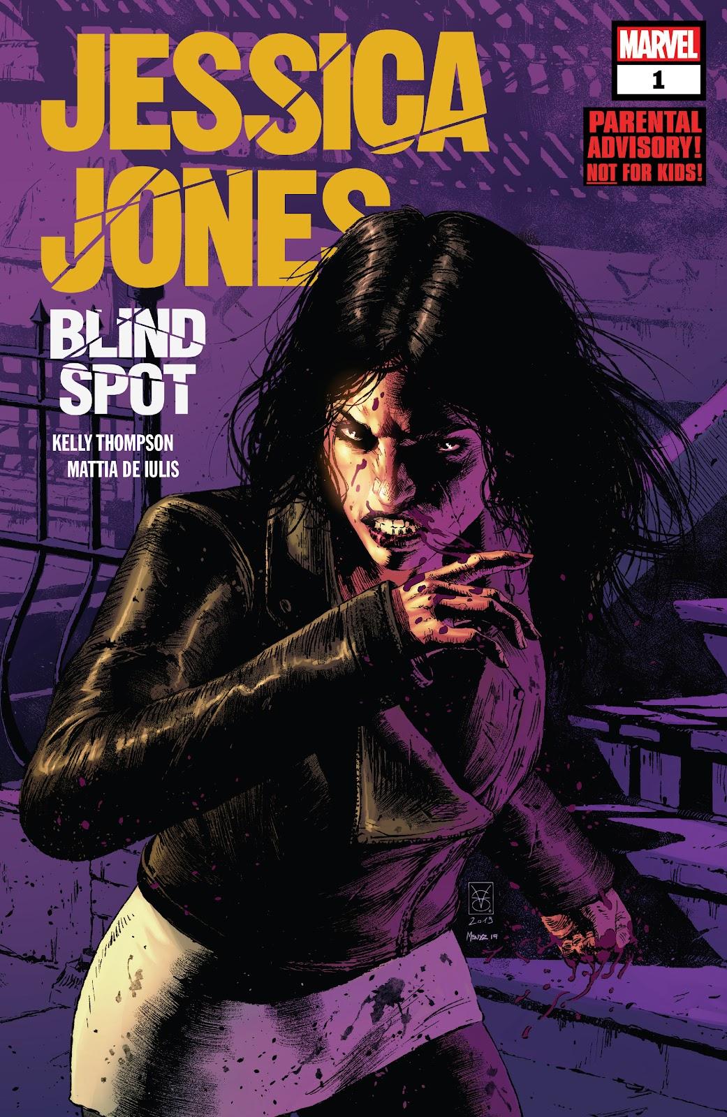 Jessica Jones: Blind Spot  1 Page 1