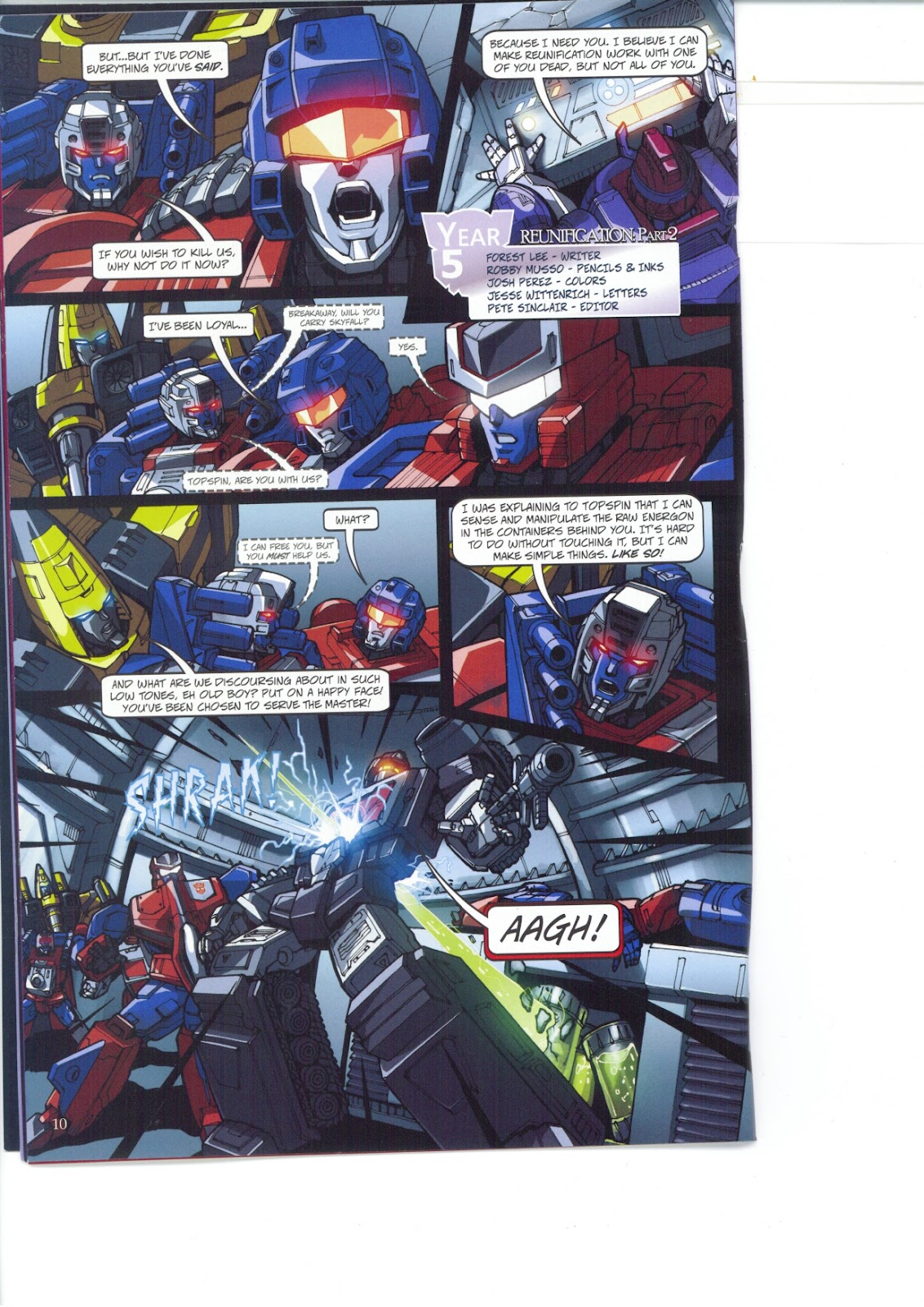 Read online Transformers: Collectors' Club comic -  Issue #26 - 10