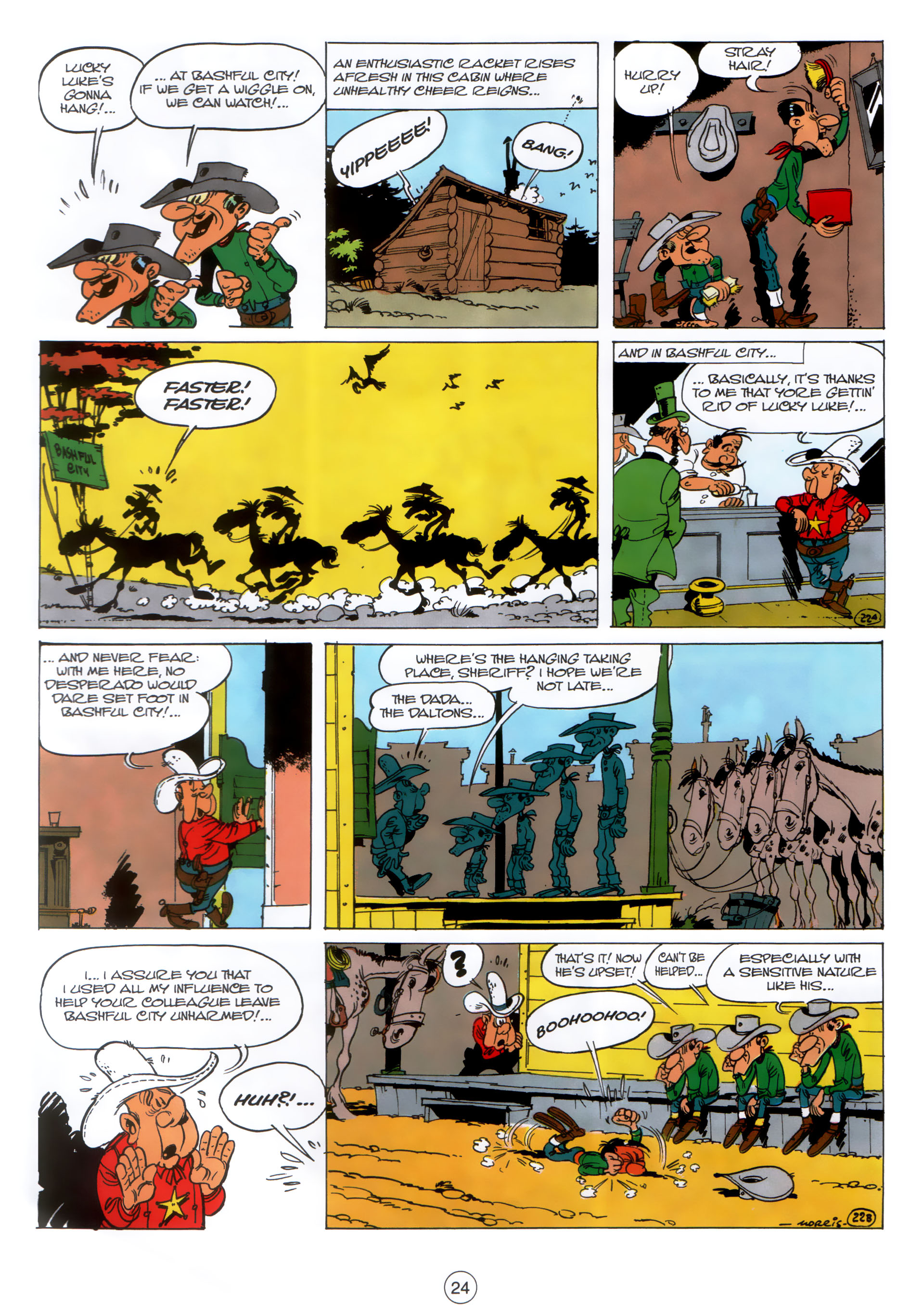Read online A Lucky Luke Adventure comic -  Issue #30 - 23