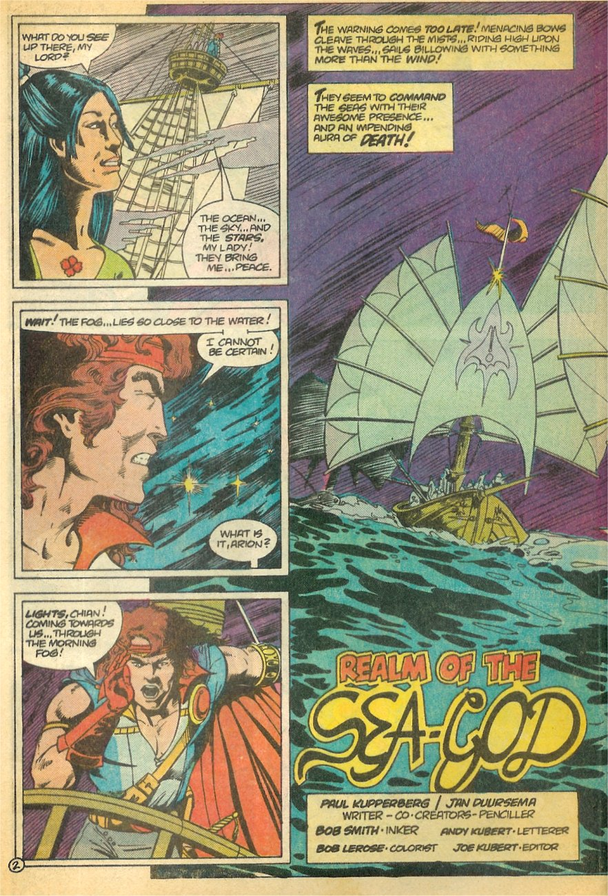 Read online Arion, Lord of Atlantis comic -  Issue #21 - 3