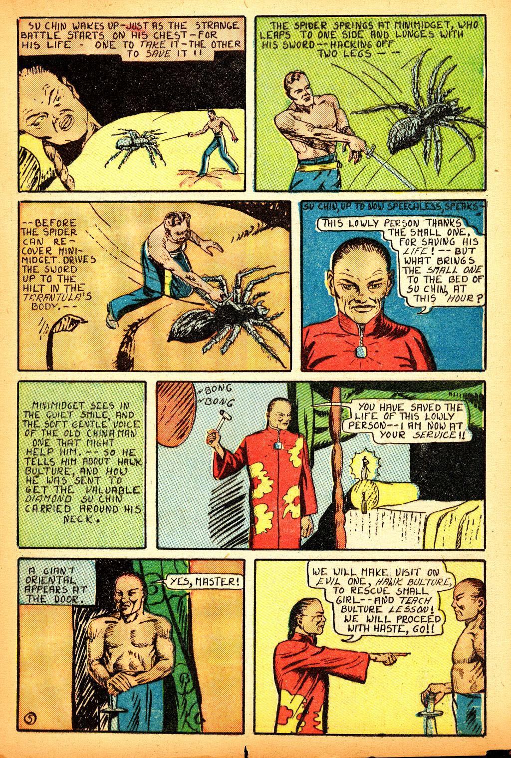 Read online Amazing Man Comics comic -  Issue #12 - 23