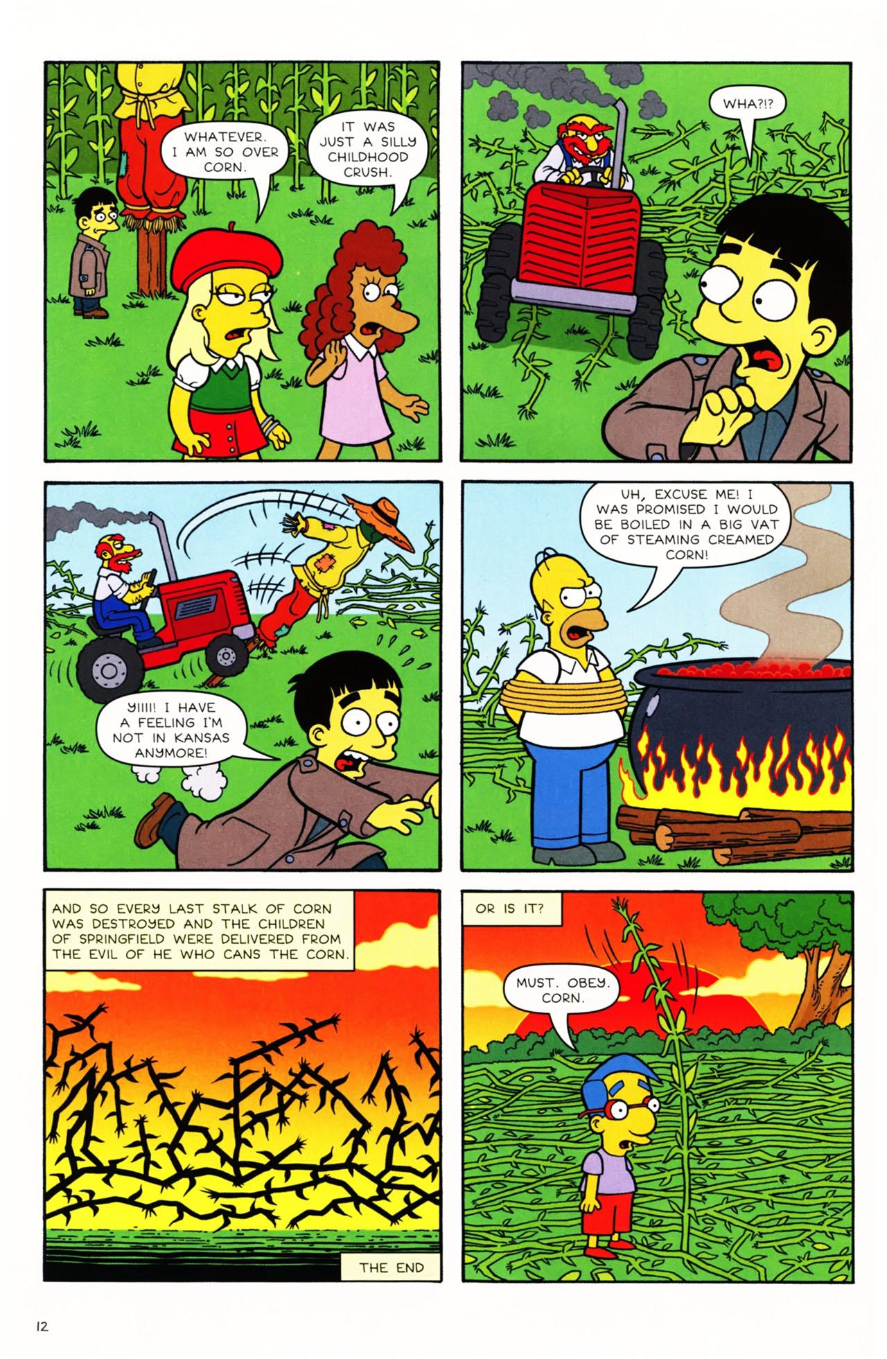 Read online Simpsons Comics Presents Bart Simpson comic -  Issue #49 - 13