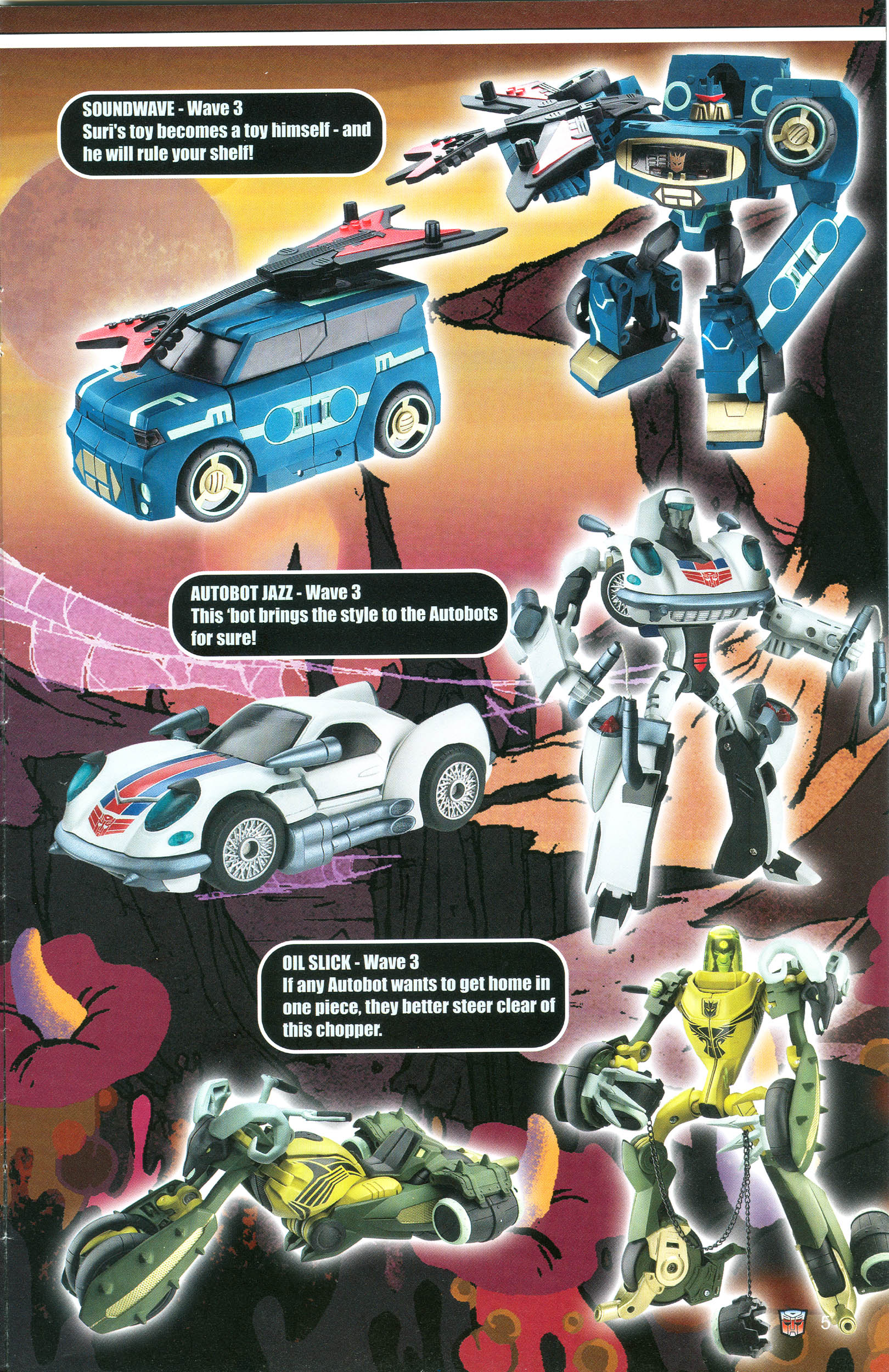 Read online Transformers: Collectors' Club comic -  Issue #20 - 5