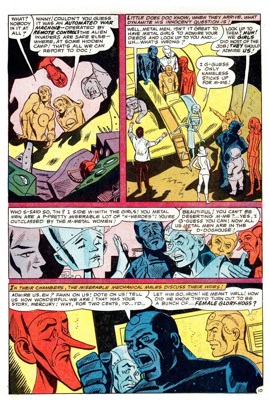 Metal Men (1963) issue 32 - Page 14