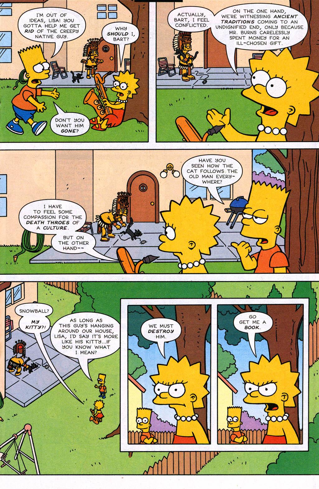 Read online Simpsons Comics comic -  Issue #98 - 14