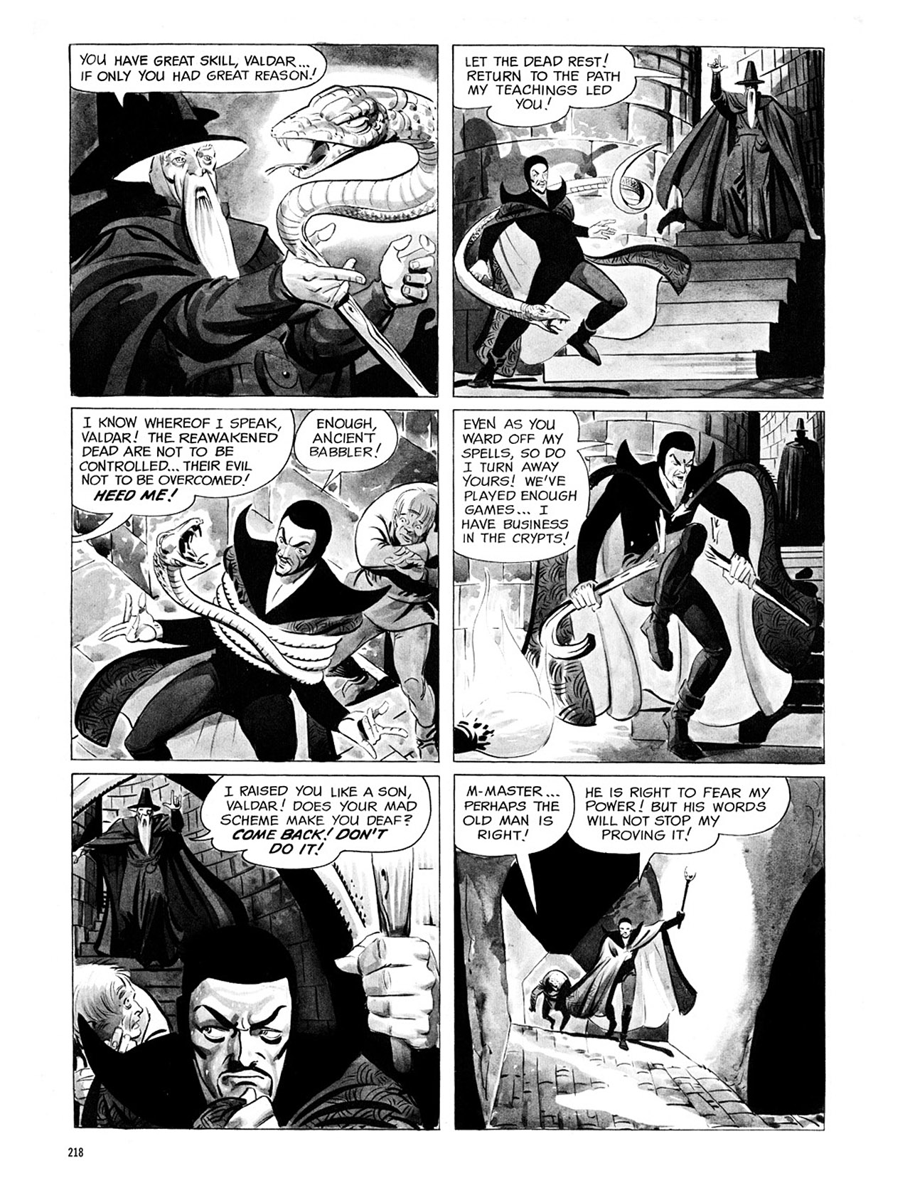 Read online Eerie Archives comic -  Issue # TPB 1 - 219
