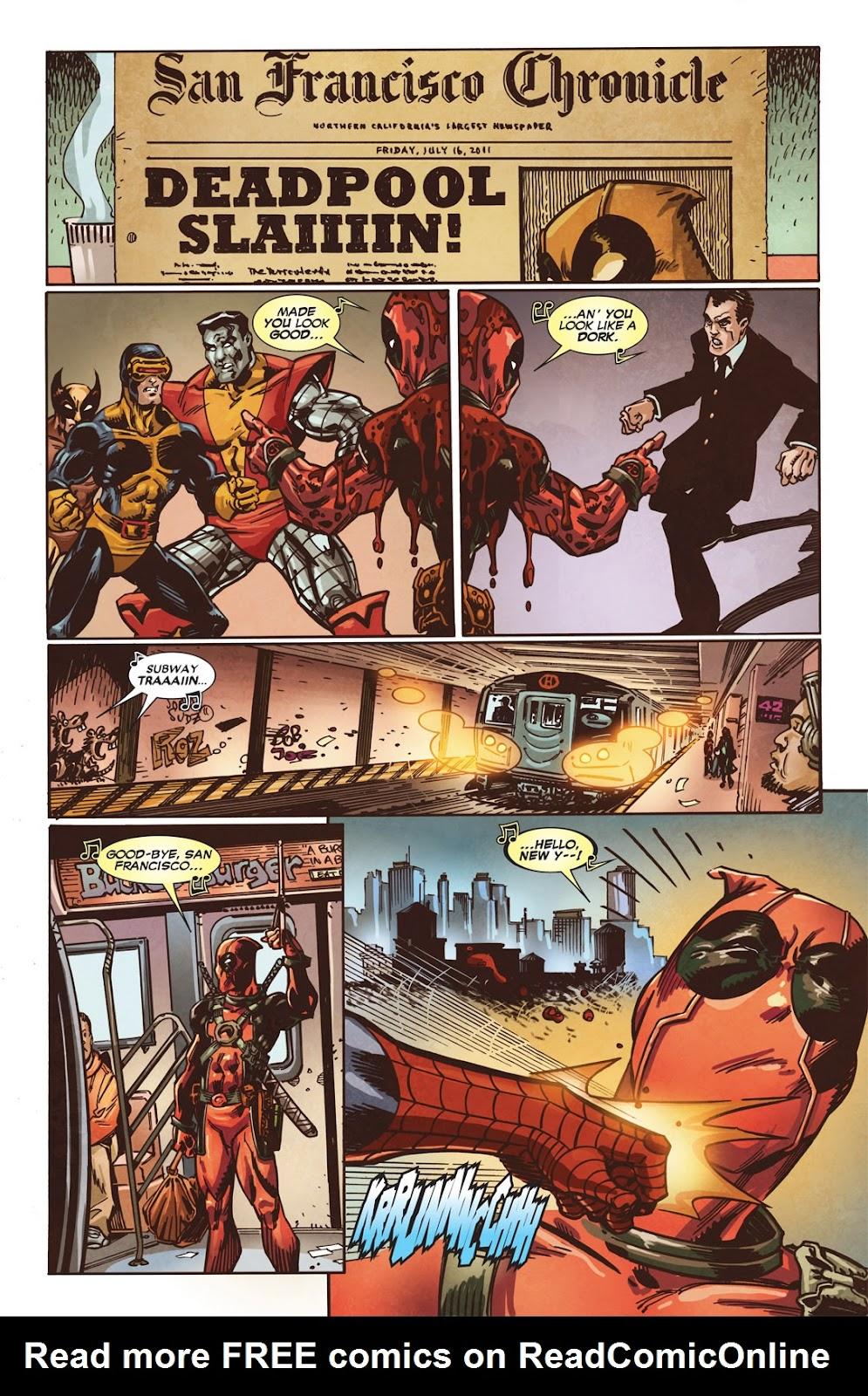 Read online Deadpool (2008) comic -  Issue #49.1 - 13