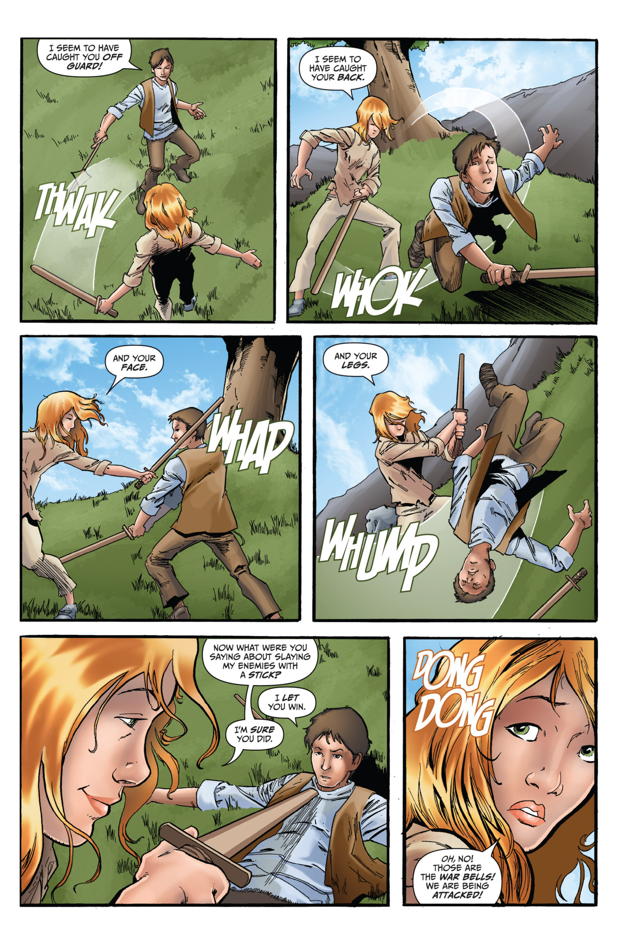Read online Grimm Fairy Tales presents Grimm Universe comic -  Issue # TPB - 110